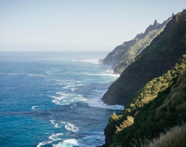 Hiking the Kalalau Trail in Na Pali Coast Kauai