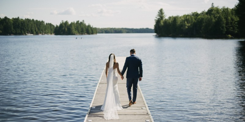 Ridge at Manitou Muskoka wedding by Ontario wedding photographer Daring Wanderer