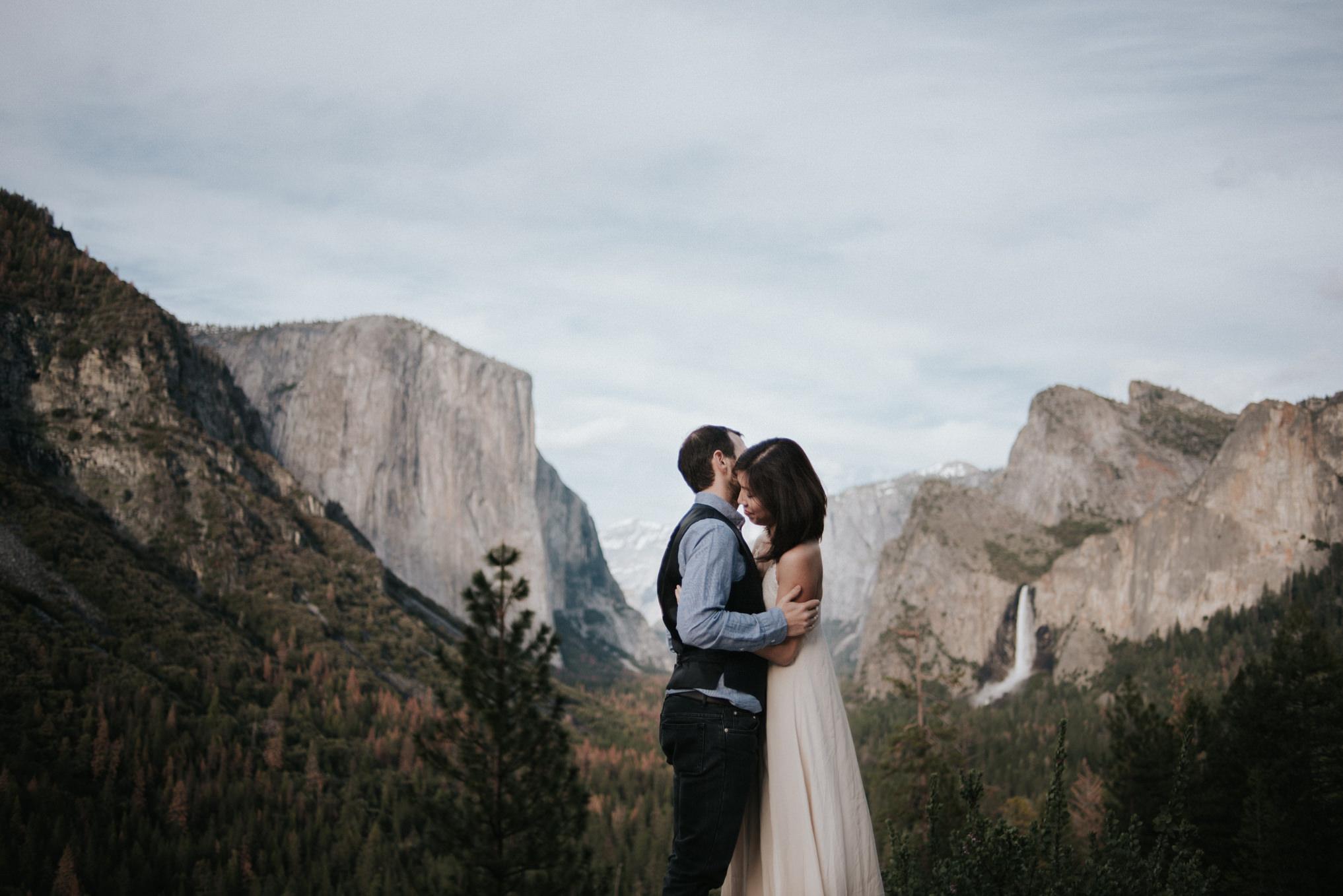 Corina Amp James Yosemite Wedding Portraits Daring Wanderer