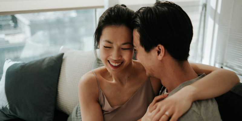 Intimate in-home sunrise engagement shoot by Toronto wedding photographer Daring Wanderer