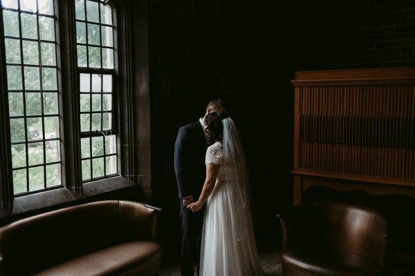 wedding portraits at Hart House