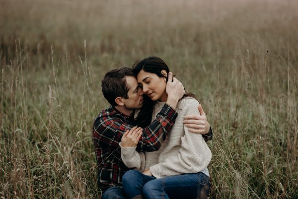 Intimate fall couple shoot at Whispering Springs
