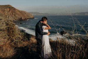 Sunset Engagement Shoot at Marin Headlands