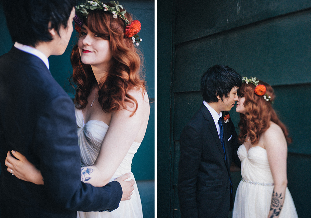 Intimate Coffee Shop Wedding // Daring Wanderer