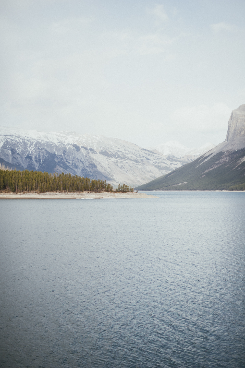 Lake Minnewanka mountains, Banff