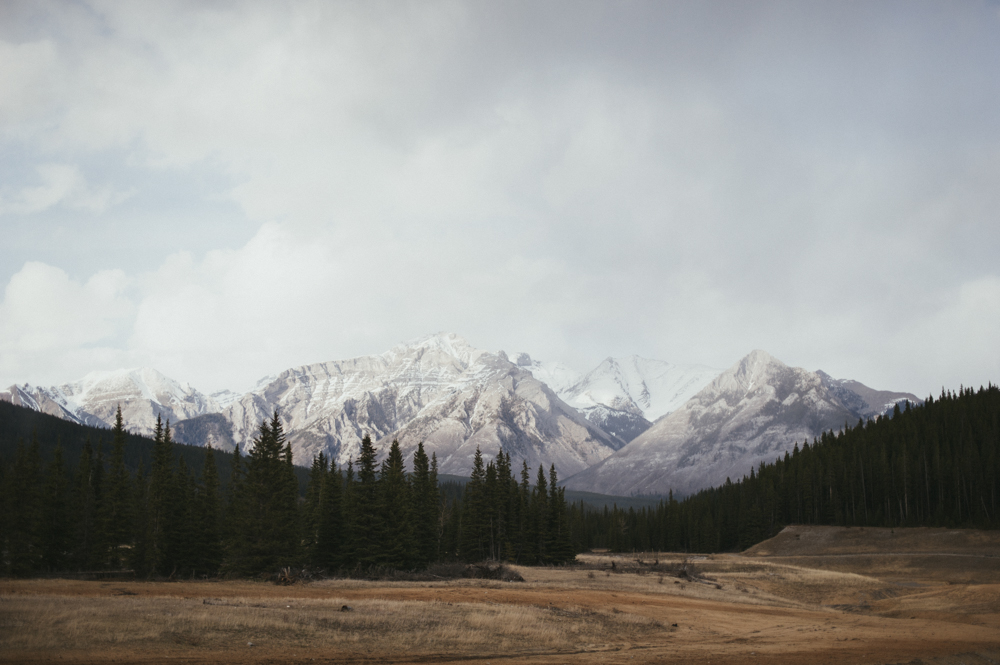 Mountain landscape in Alberta