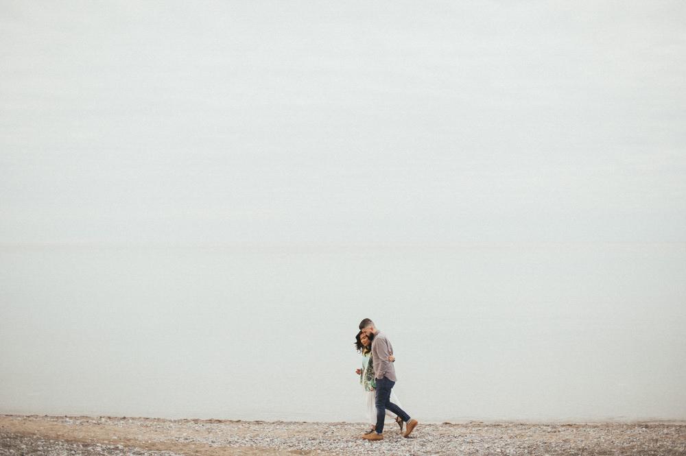 Toronto Leuty Beach Engagement // Daring Wanderer