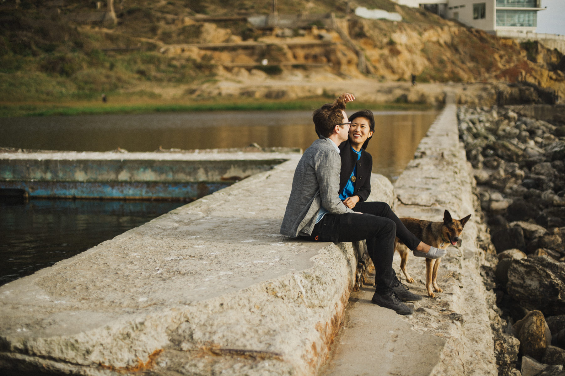 Lands End & Sutro Baths Engagement // Daring Wanderer