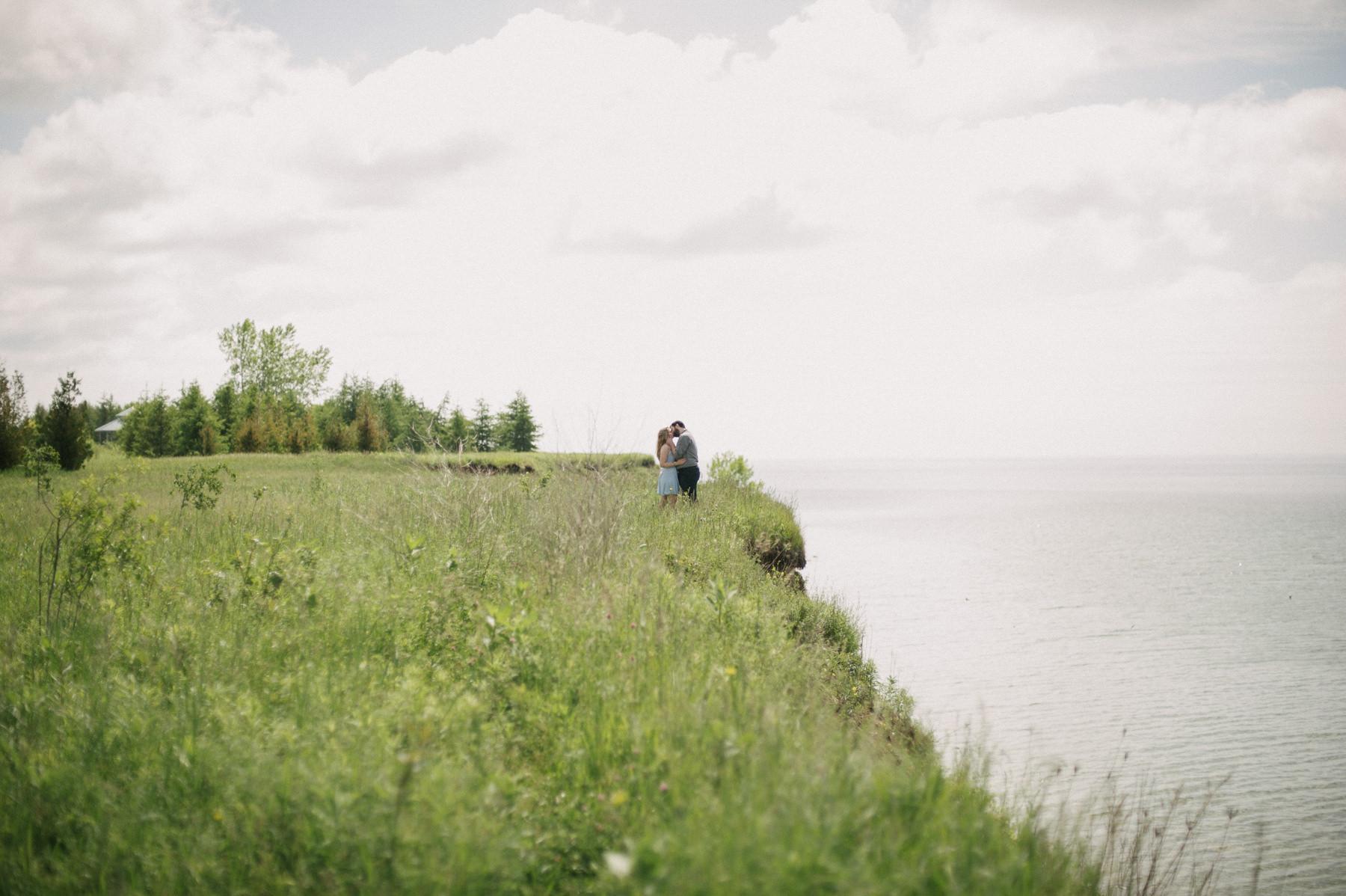 Durham Forest Engagement // Daring Wanderer. Toronto Wedding Photographer.