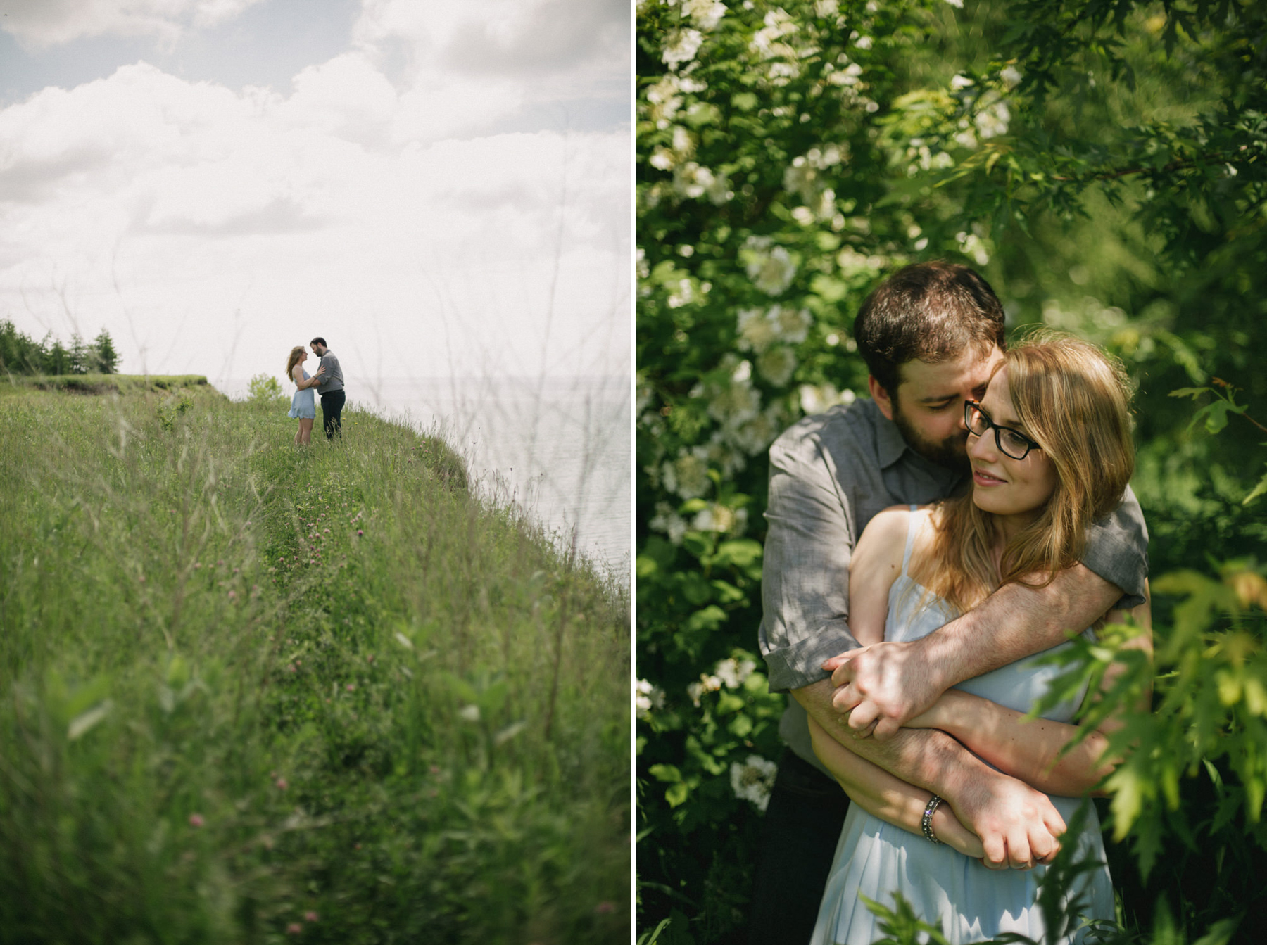 Durham Forest Engagement // Daring Wanderer. Toronto Wedding Photographer.