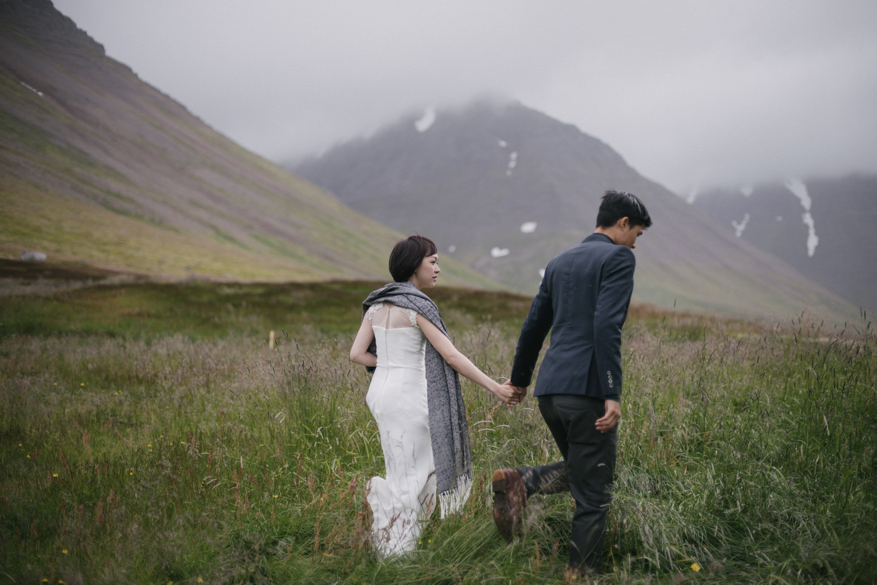 Intimate Iceland Elopement in the West Fjords. Destination Wedding. // Daring Wanderer