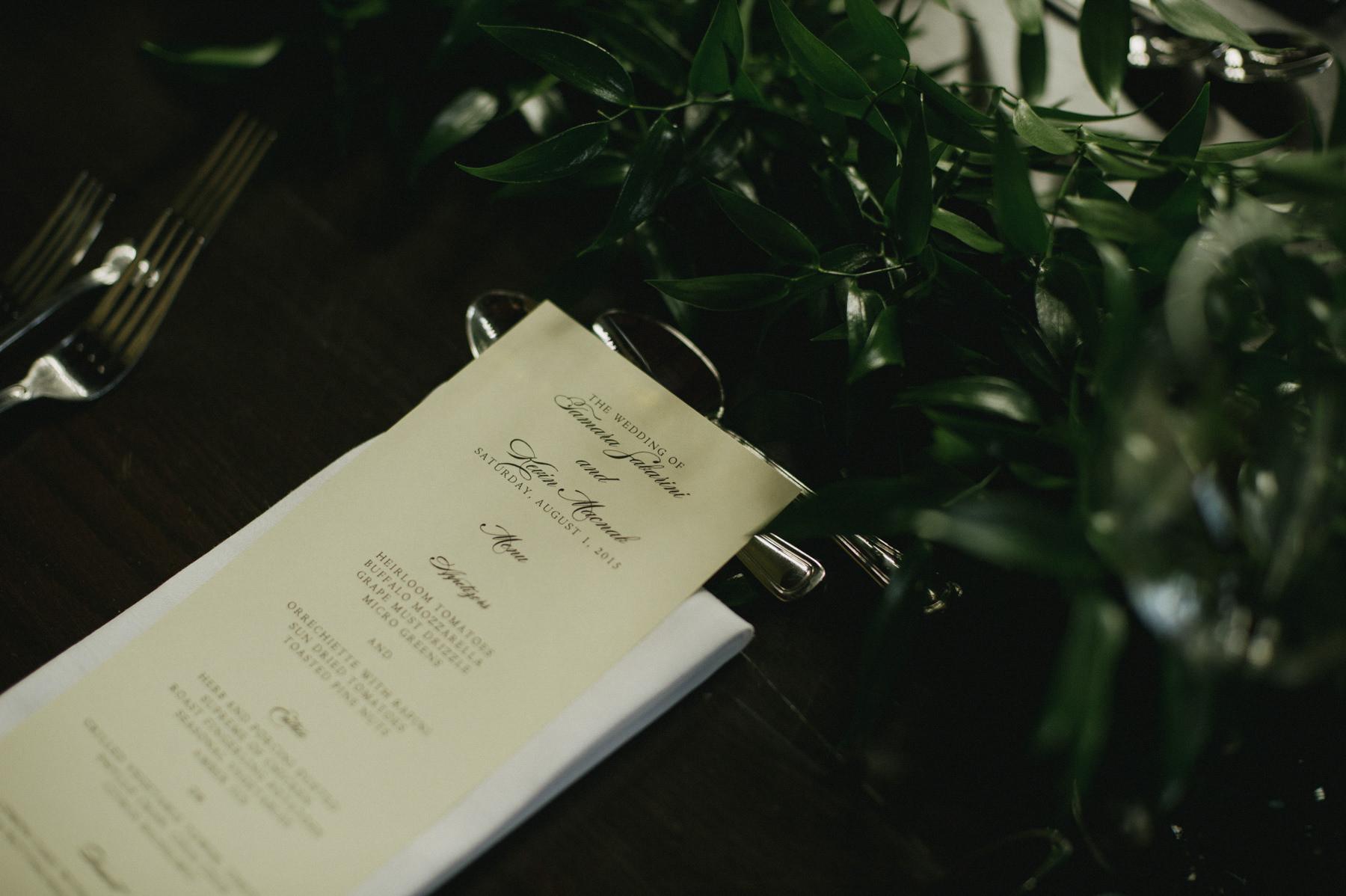 Intimate wedding at Hart House. Toronto Wedding Photographer // Daring Wanderer