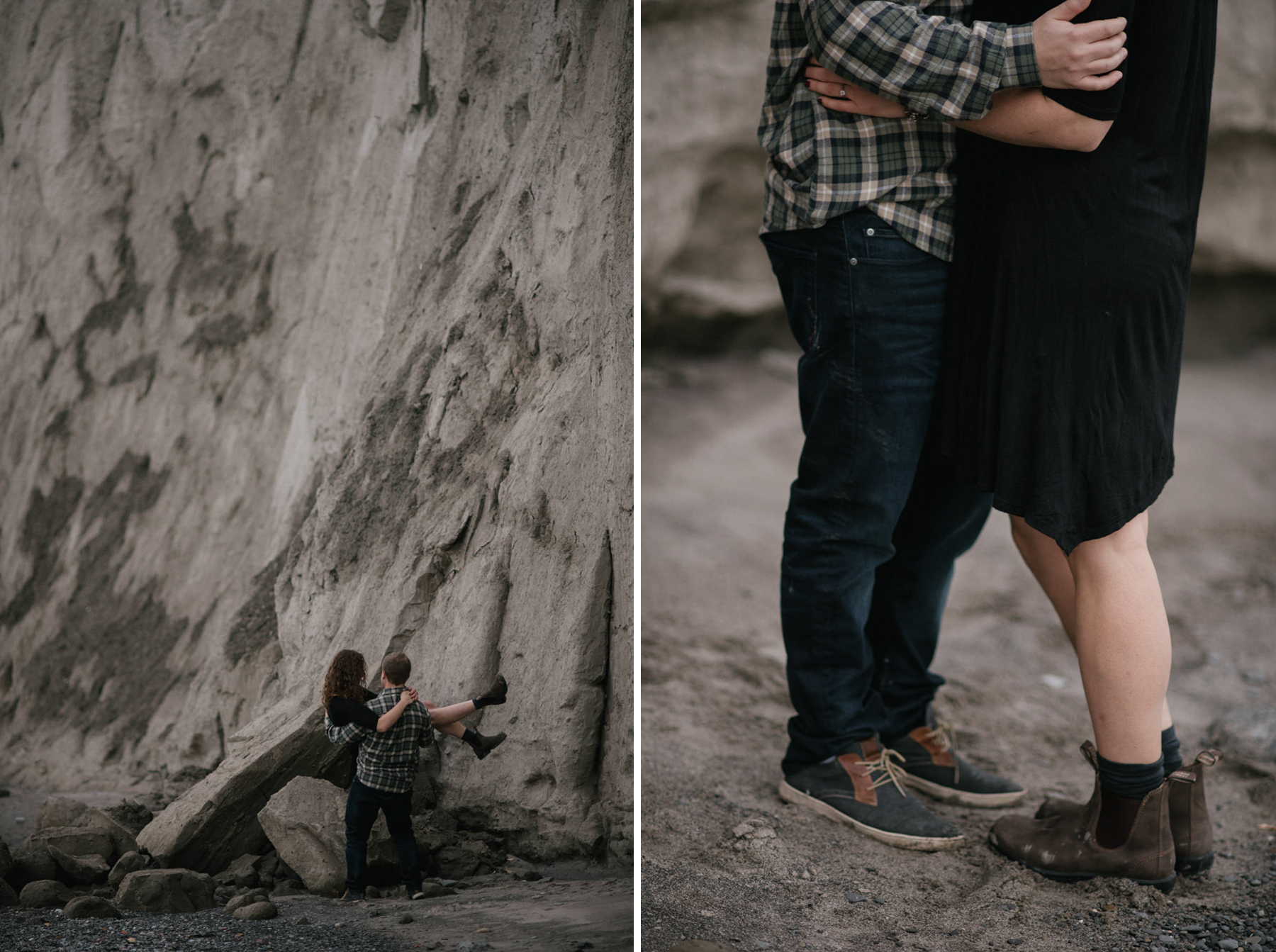 Daring Wanderer Photography - Daring Wanderer - Destination Wedding Photographer - Sunrise - Beach - Scarborough Bluffs - Bluffers Park engagement - Toronto engagement photographer - love - engagement shoot - toronto engagement - sunrise engagement shoot - lake ontario