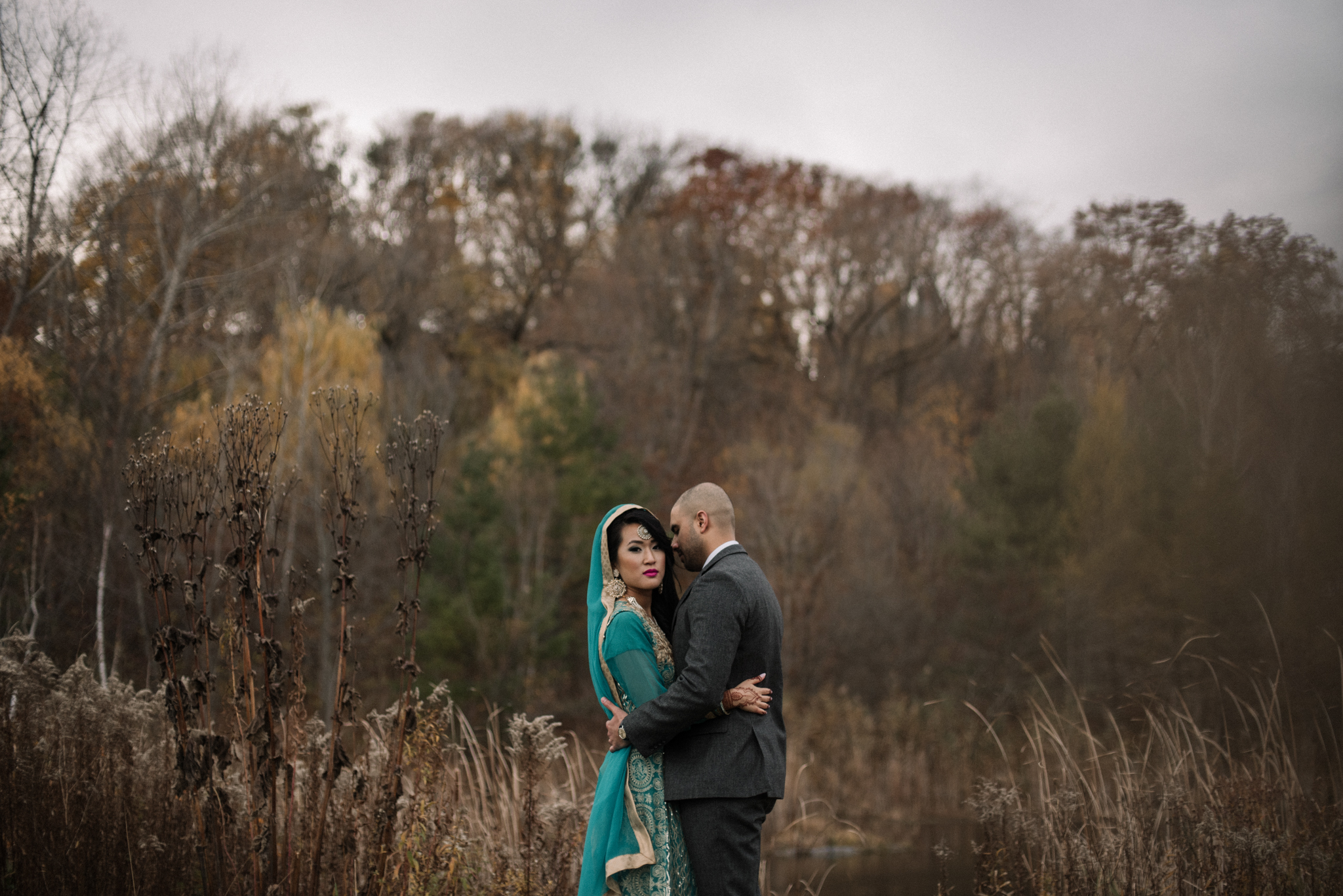 Daring Wanderer Photography - Daring Wanderer - Toronto portrait photographer - Toronto engagement photographer - Evergreen Brickworks Engagement - love - hindu wedding - Toronto wedding photographer - portraits - couple - Toronto - Evergreen Brickworks