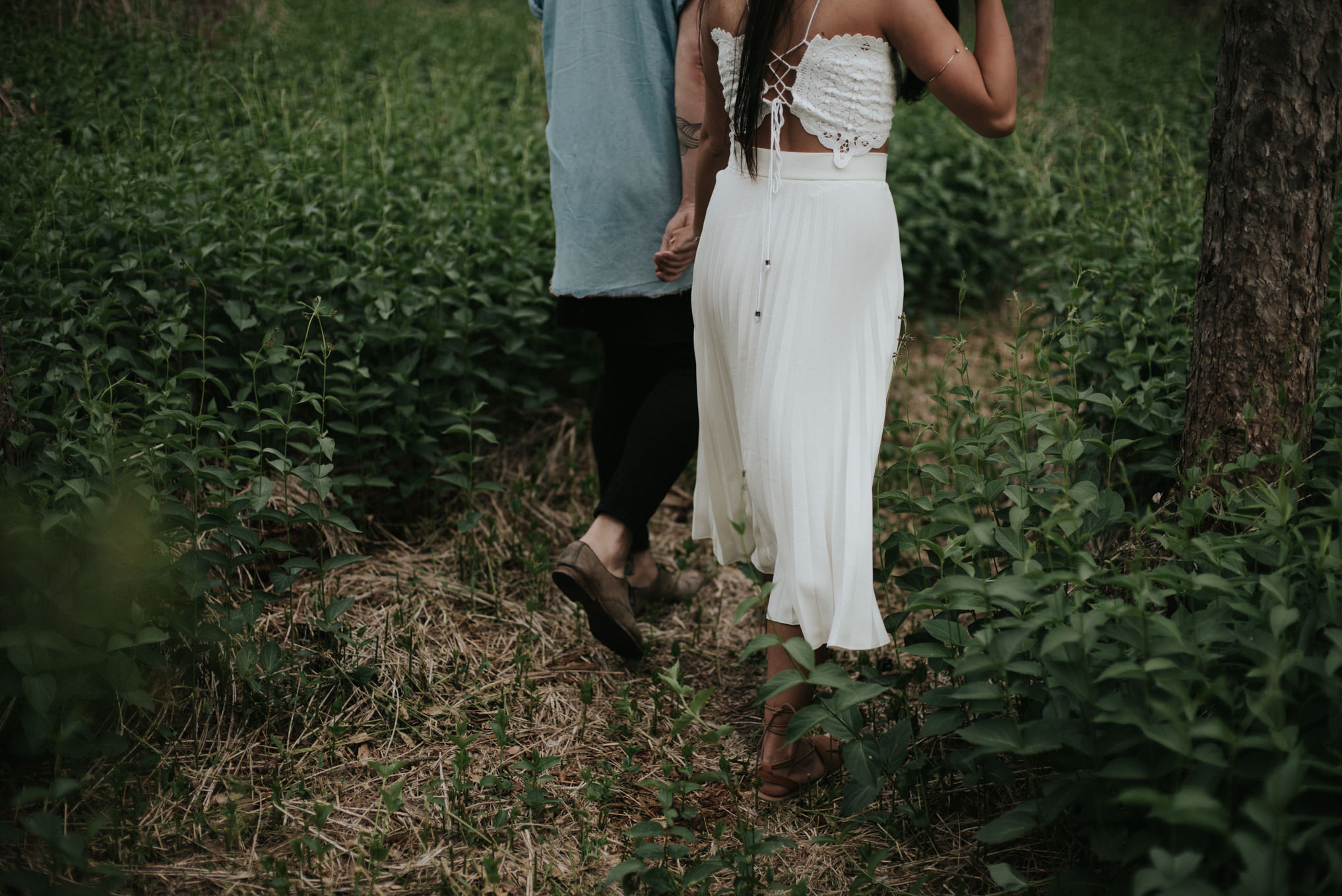 Bohemian Forest Engagement at Orono Crown Lands // Daring Wanderer: www.daringwanderer.com