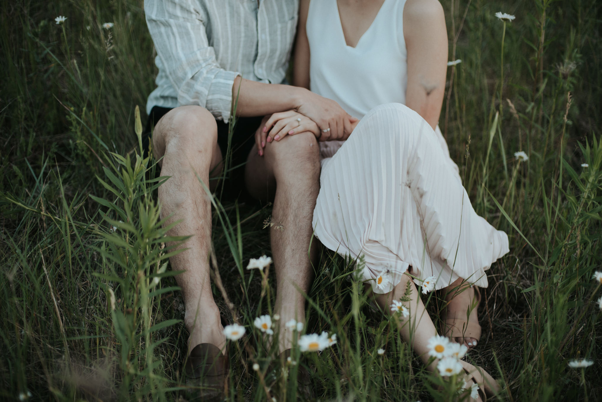 Sunset Engagement at Walker Woods // Daring Wanderer: www.daringwanderer.com