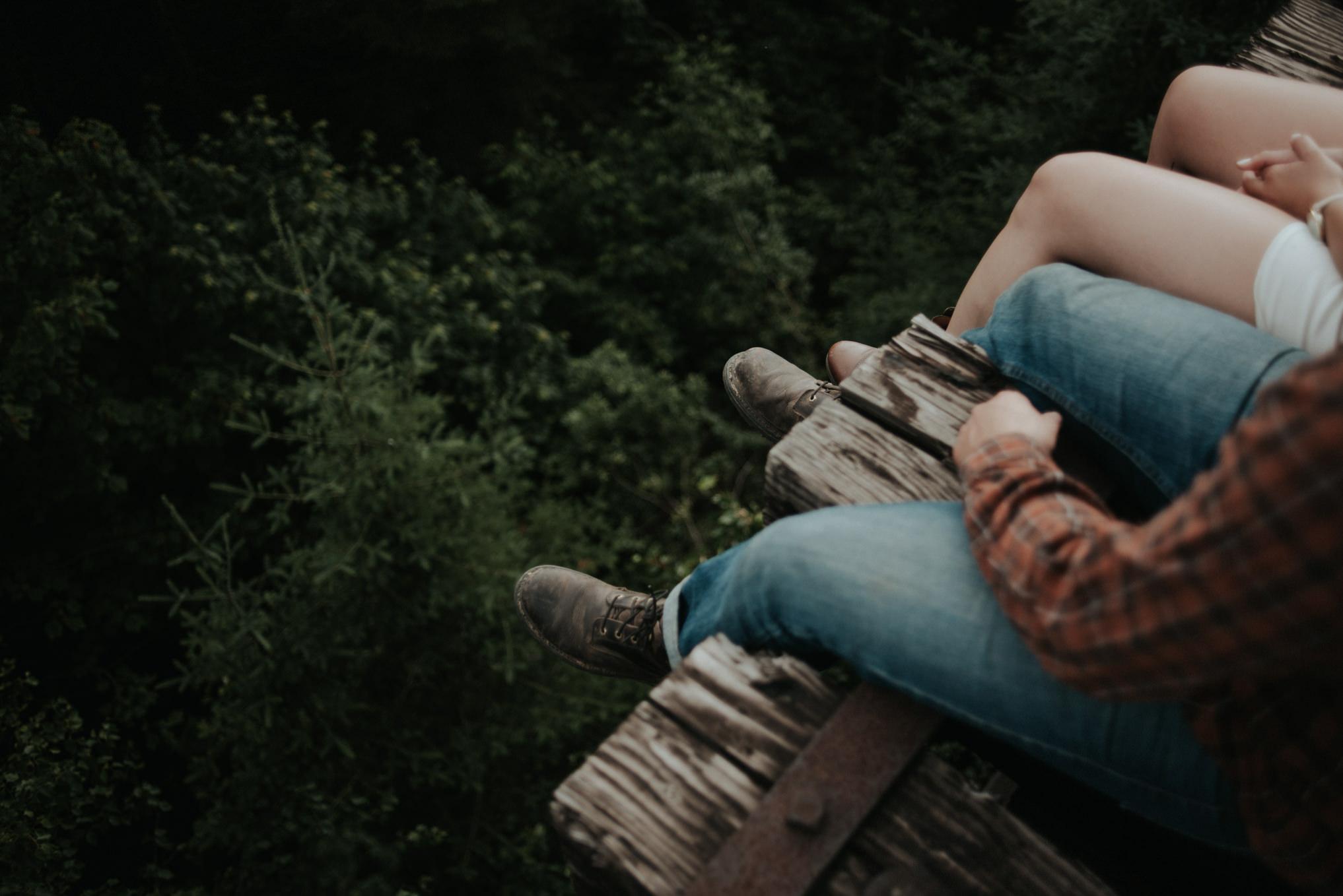 An adventurous Sleeping Giant engagement shoot in Thunder Bay // Daring Wanderer: www.daringwanderer.com