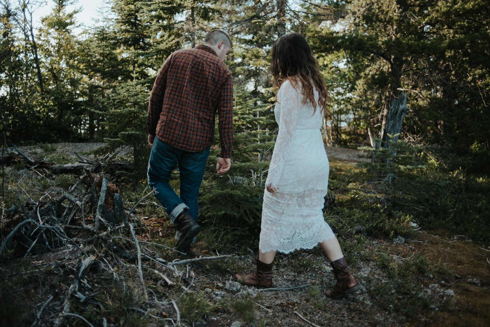 An adventurous Sleeping Giant engagement shoot in Thunder Bay // Daring Wanderer: www.daringwanderer.com