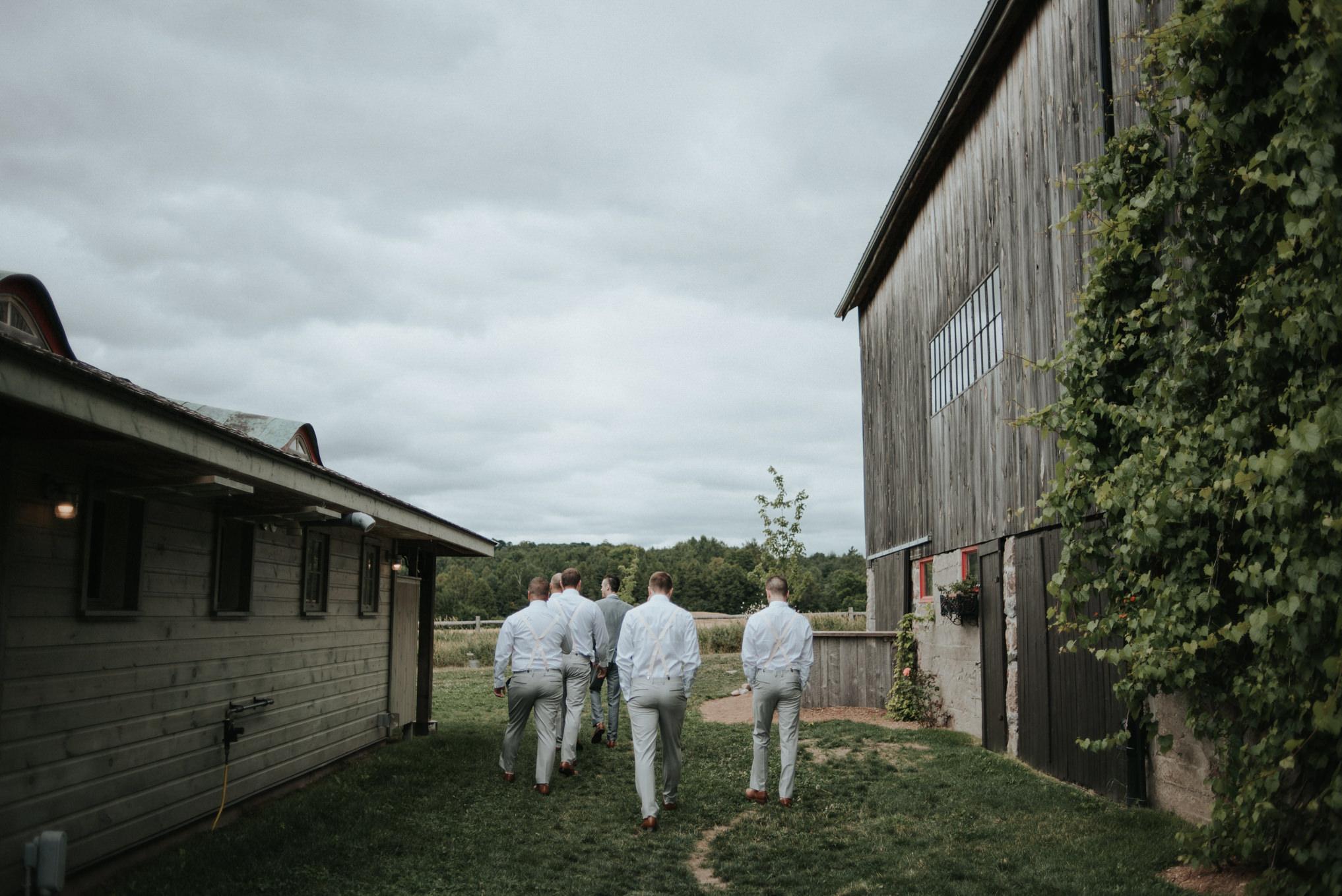 An intimate bohemian outdoor farm wedding at South Pond Farms // Daring Wanderer: www.daringwanderer.com