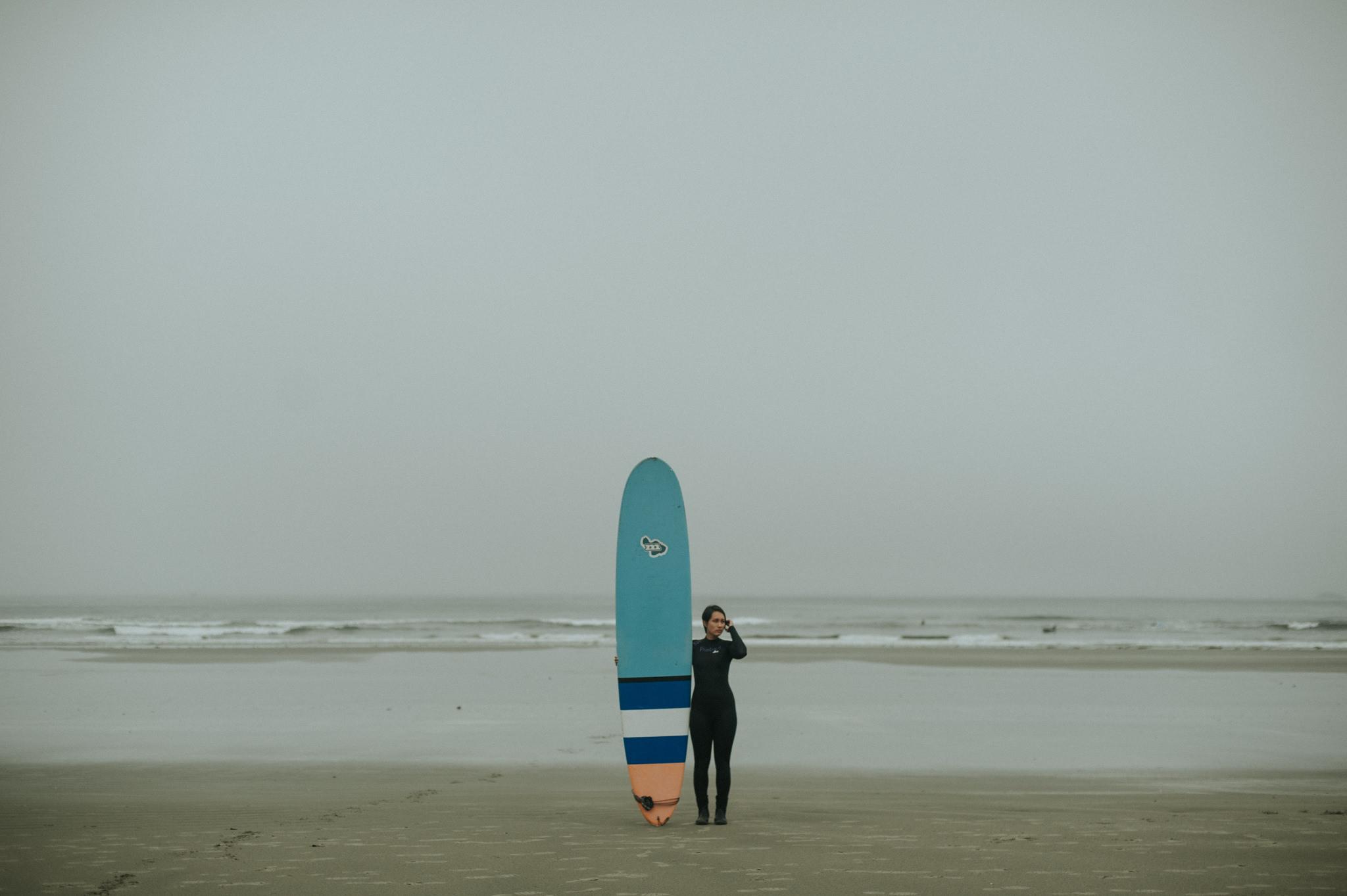 Surfing in Tofino at Cox Bay // Daring Wanderer: www.daringwanderer.com