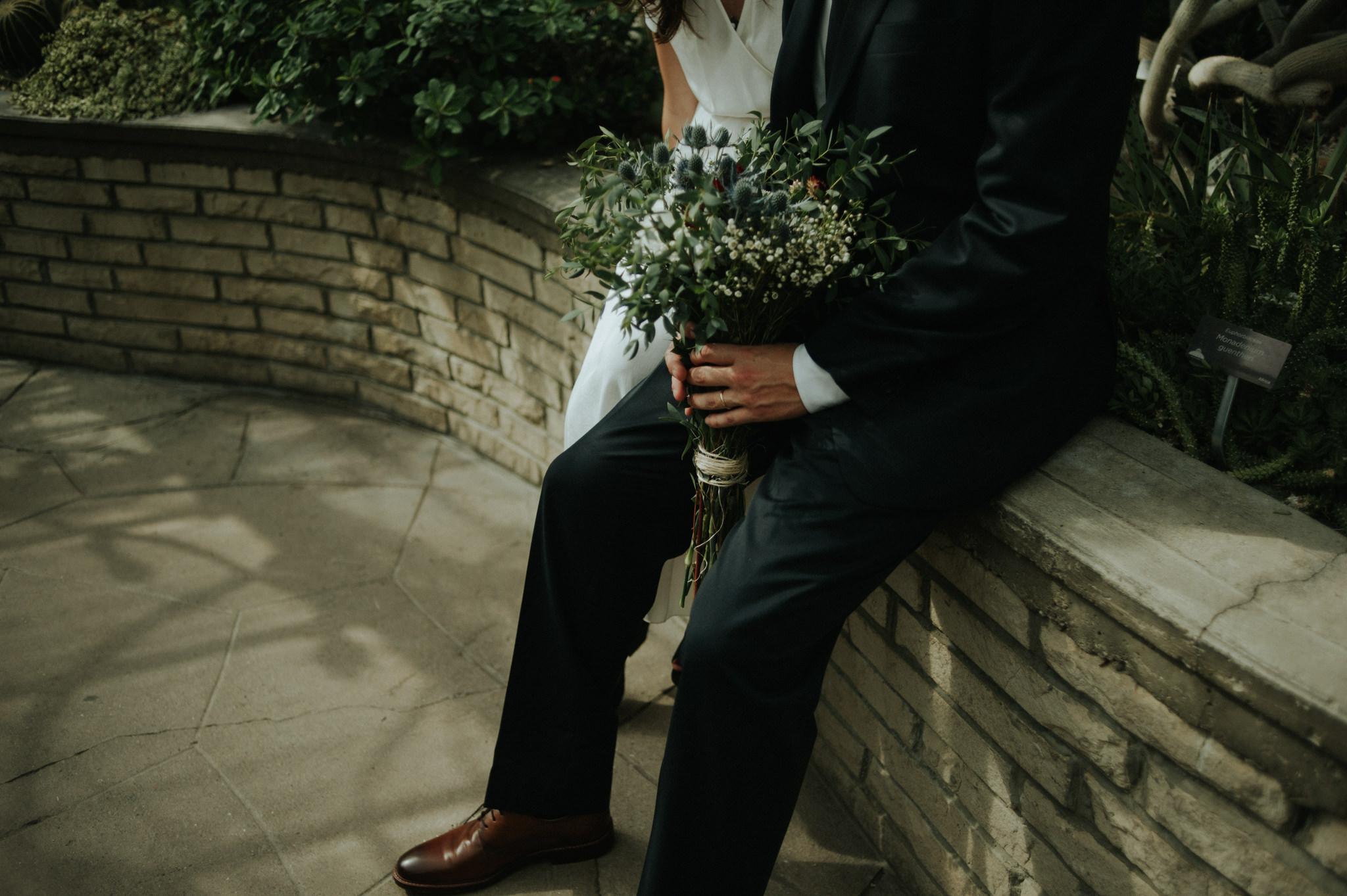 Secret Allan Gardens elopement in Toronto // Daring Wanderer: www.daringwanderer.com