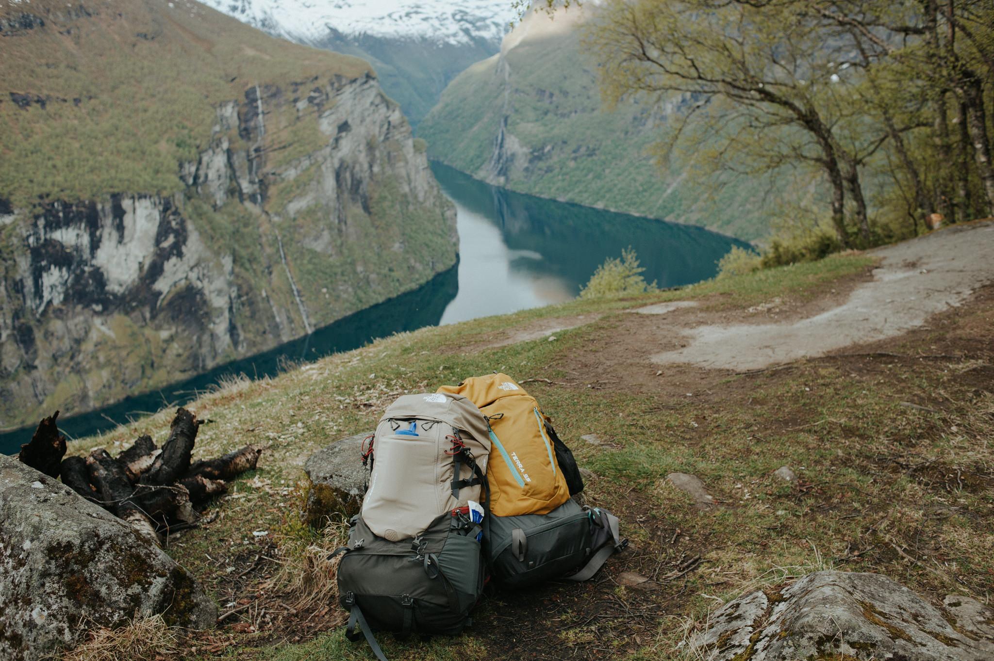 Camping in Geirangerfjord, Norway // Daring Wanderer: www.daringwanderer.com