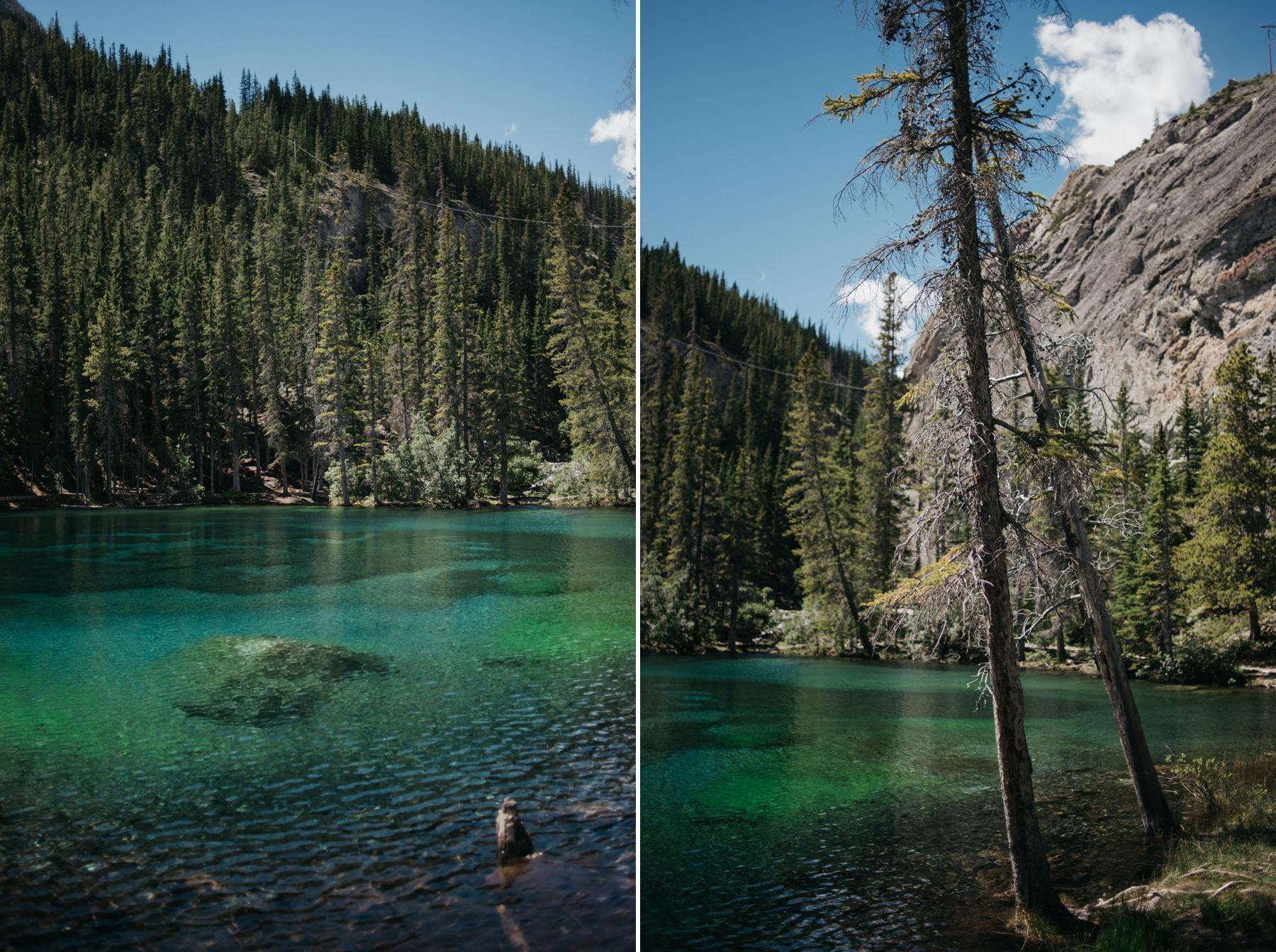 Grassi Lakes trail hike in Canmore // Daring Wanderer: www.daringwanderer.com