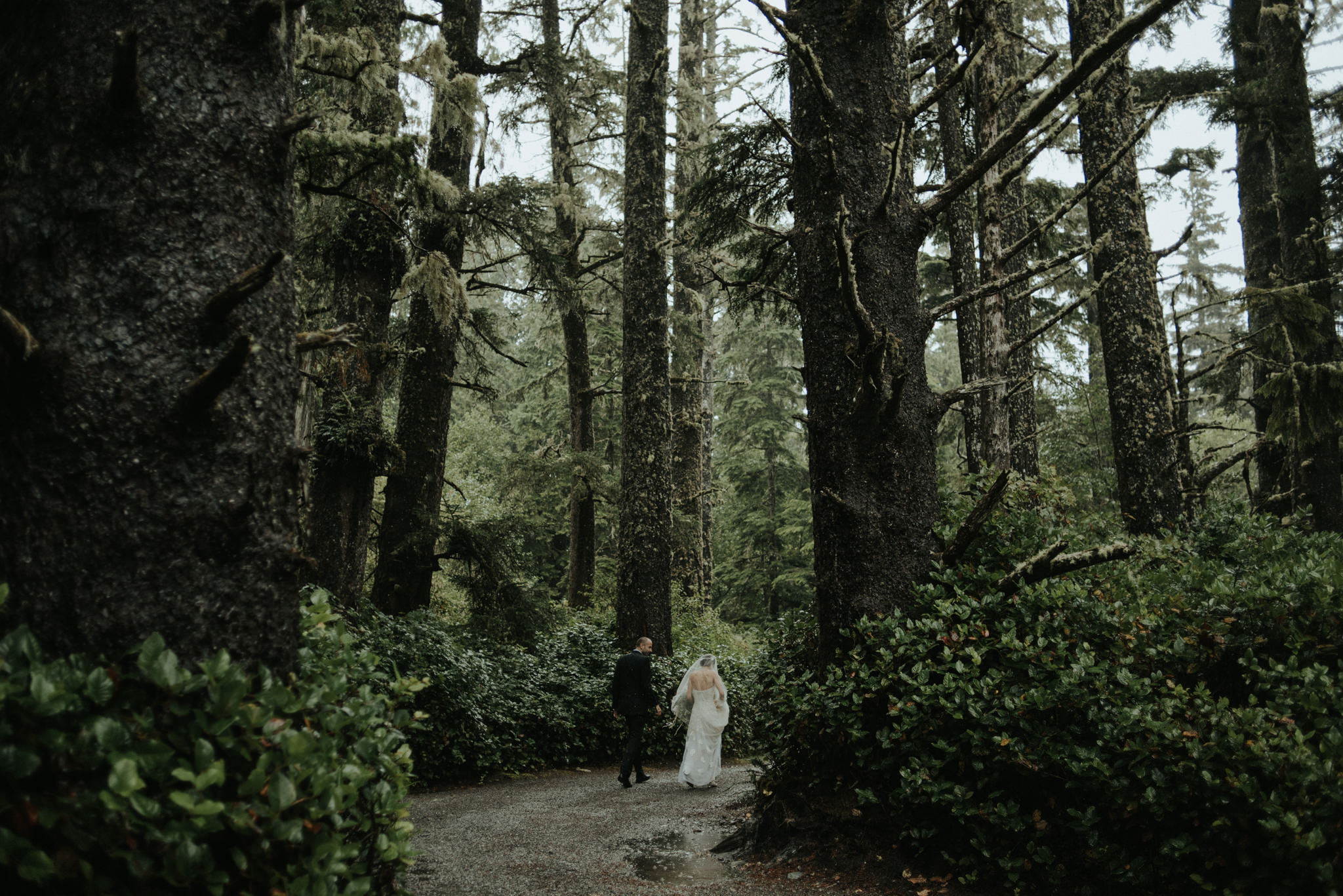 Intimate Tofino Elopement by destination wedding photographer Daring Wanderer