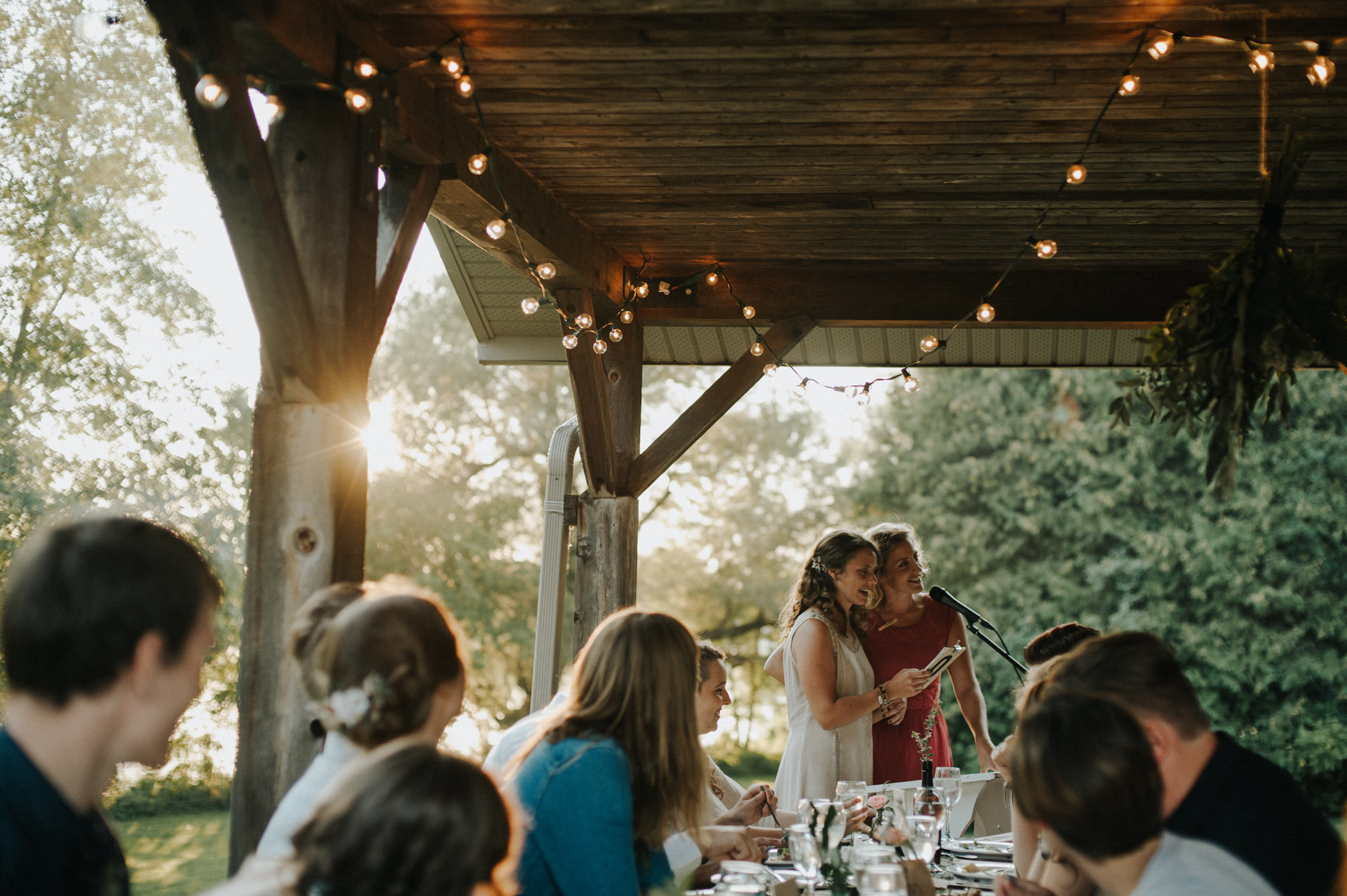 An Intimate Rideau Hill Camp Wedding // Daring Wanderer: www.daringwanderer.com