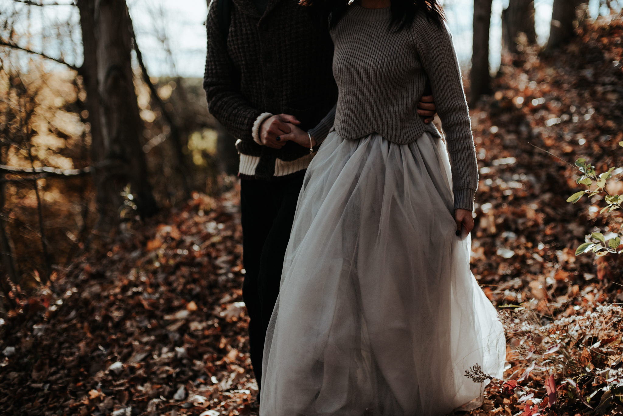 Chasing waterfalls and sunsets, Tews Falls Engagement // Toronto wedding photographer Daring Wanderer