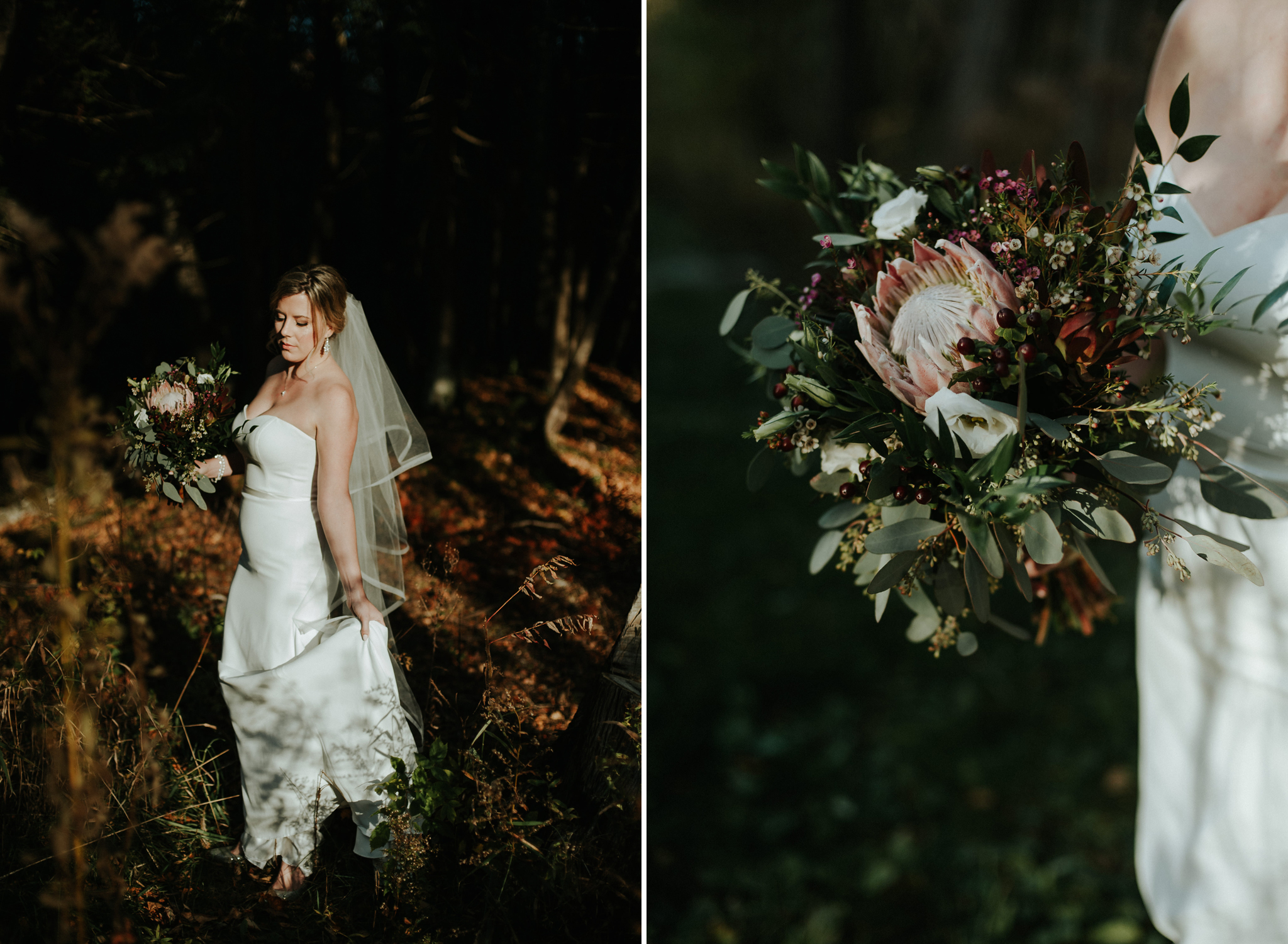 Intimate Cottage Wedding at Serenity Cottage in Owen Sound // Toronto wedding photographer Daring Wanderer