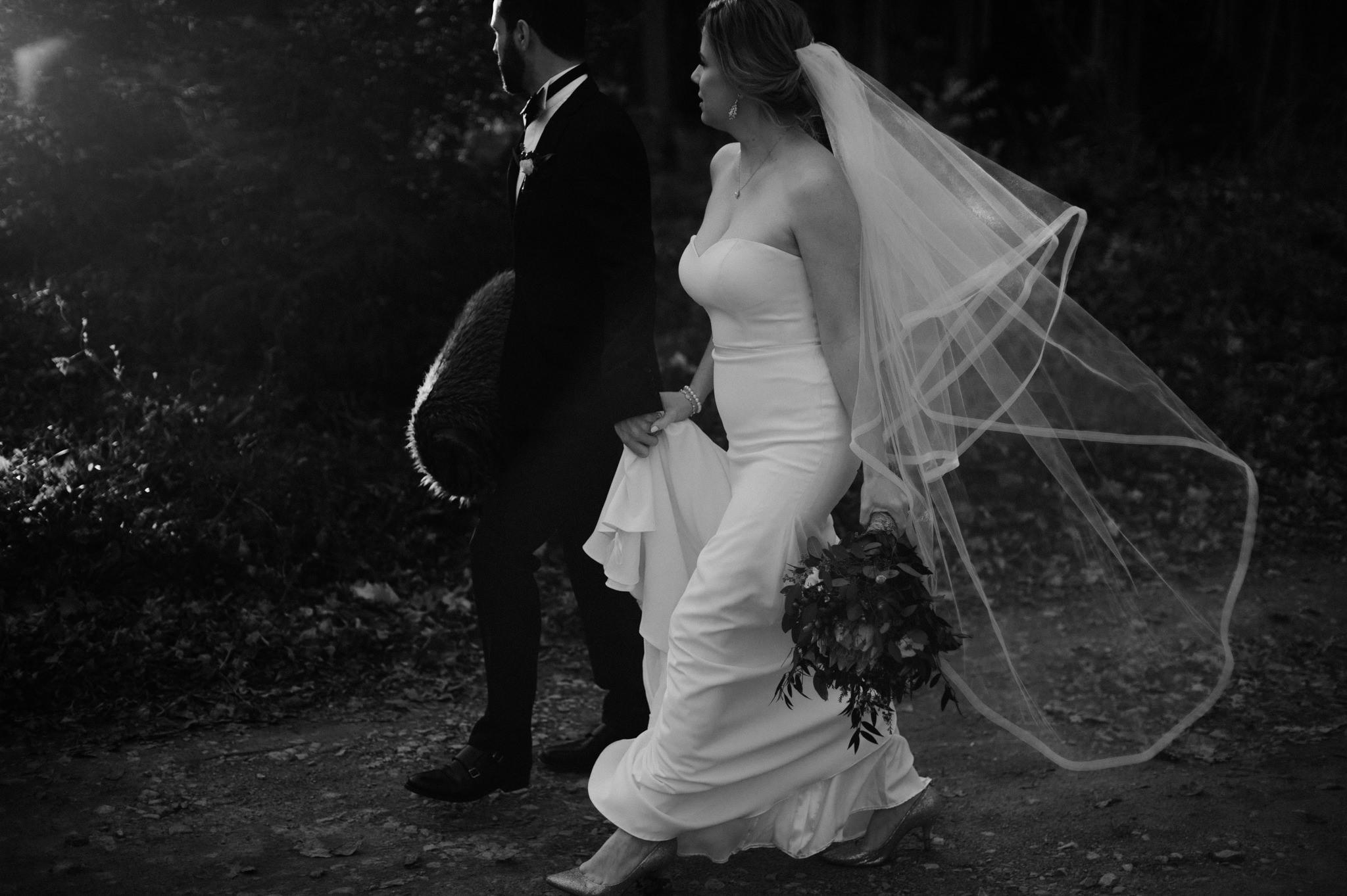 Intimate Cottage Wedding at Serenity Cottage in Owen Sound // Toronto wedding photographer Daring Wanderer