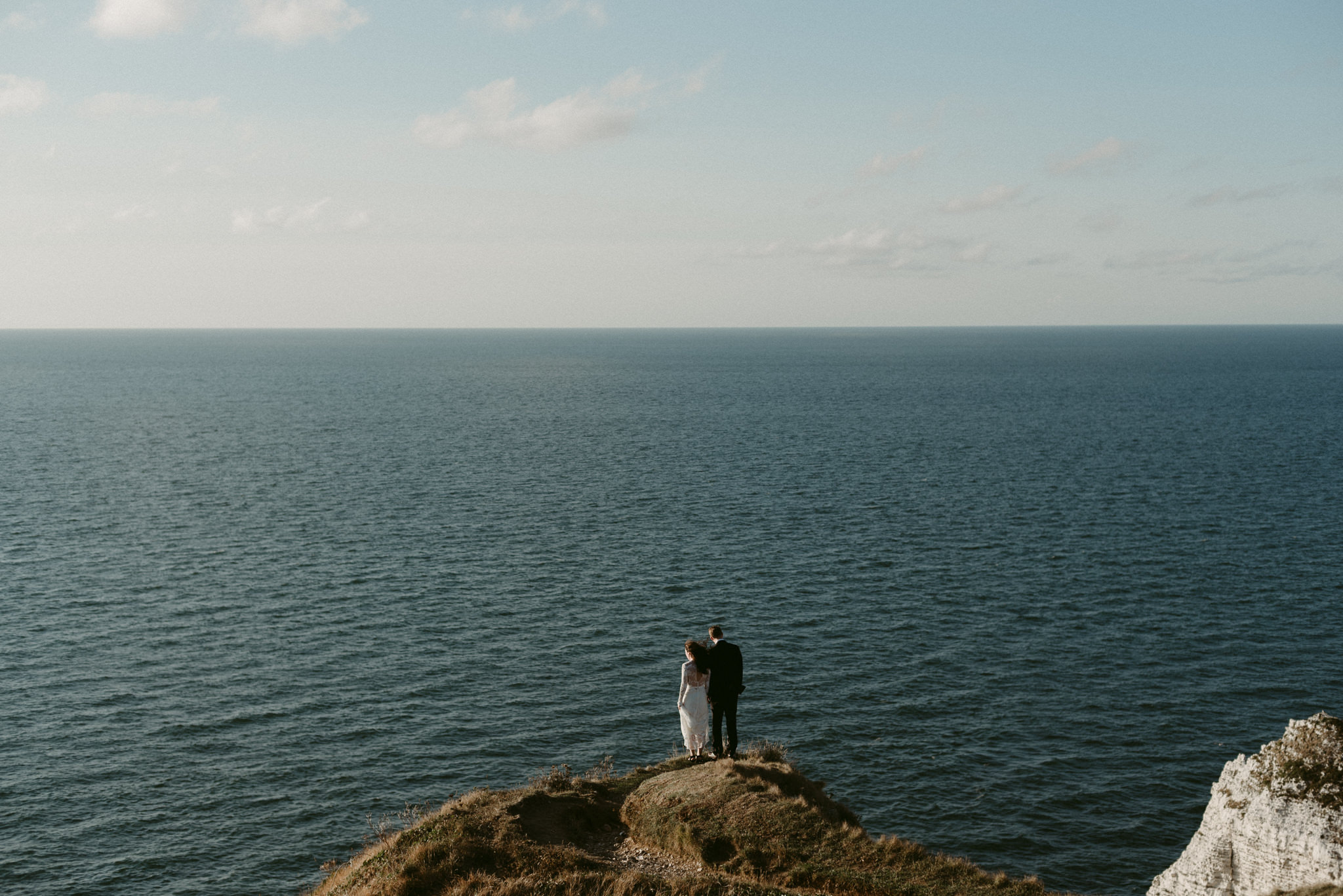 Etretat Wedding Portraits