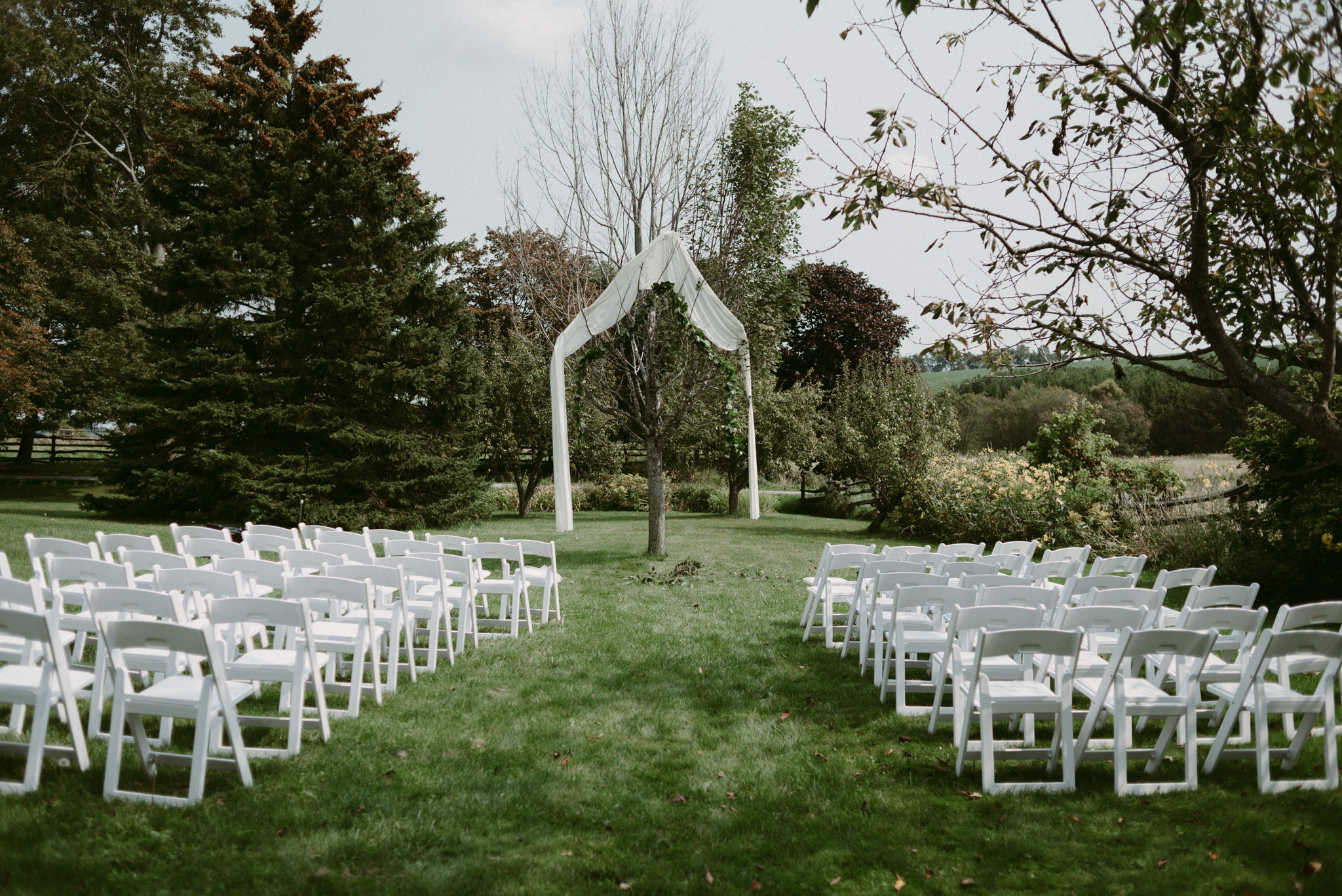 Backyard Wedding in Ontario