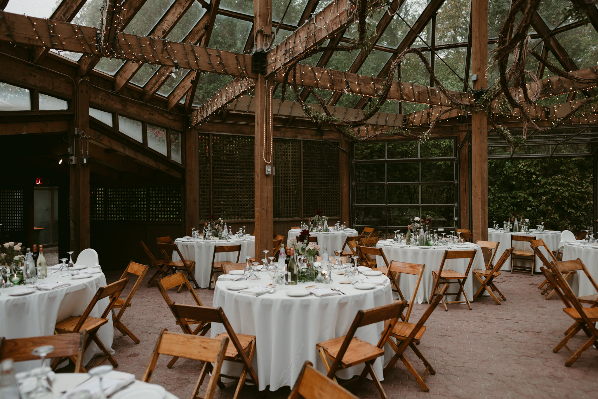 Kortright Centre for Conservation wedding reception