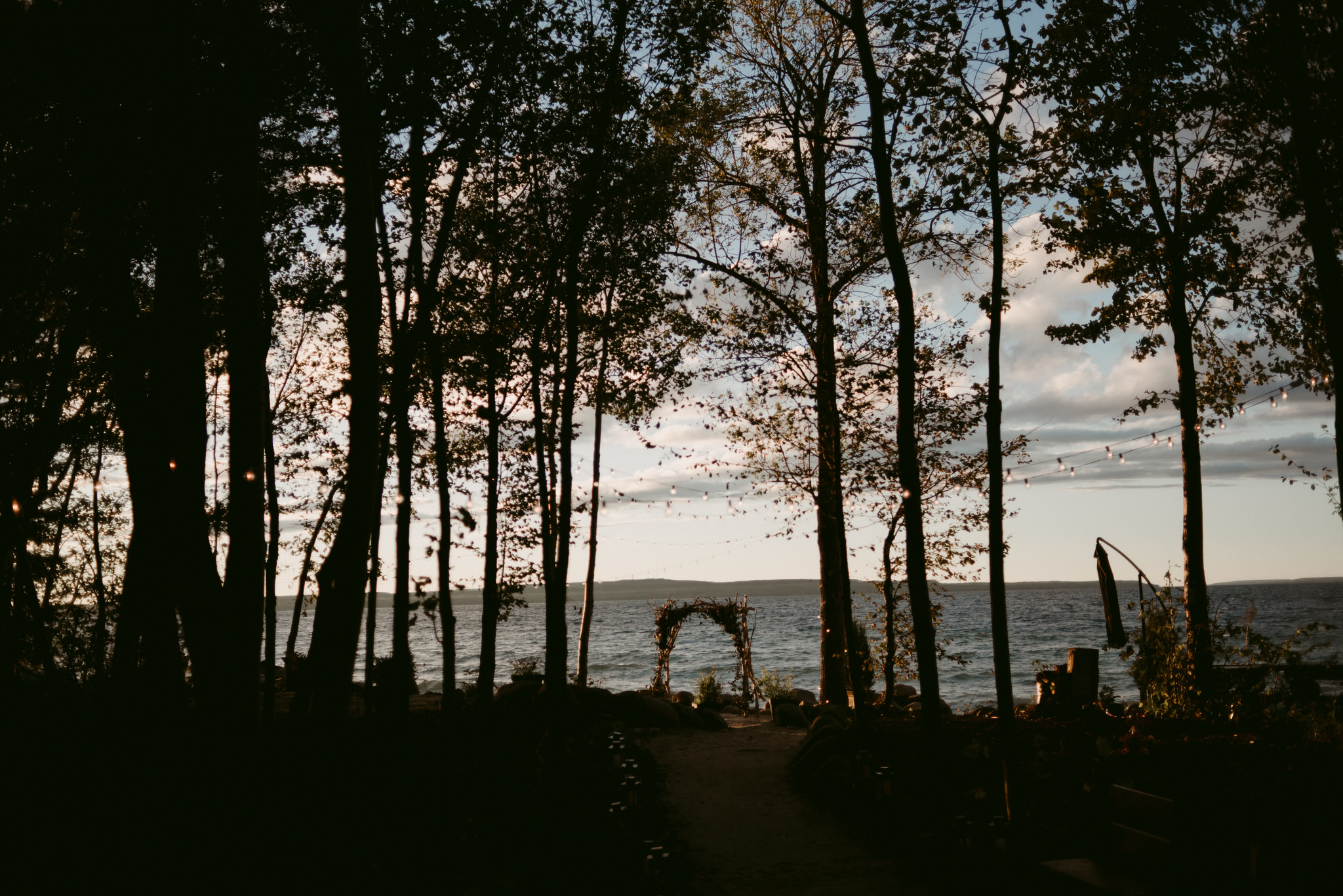 Serenity cottage wedding on Georgian Bay