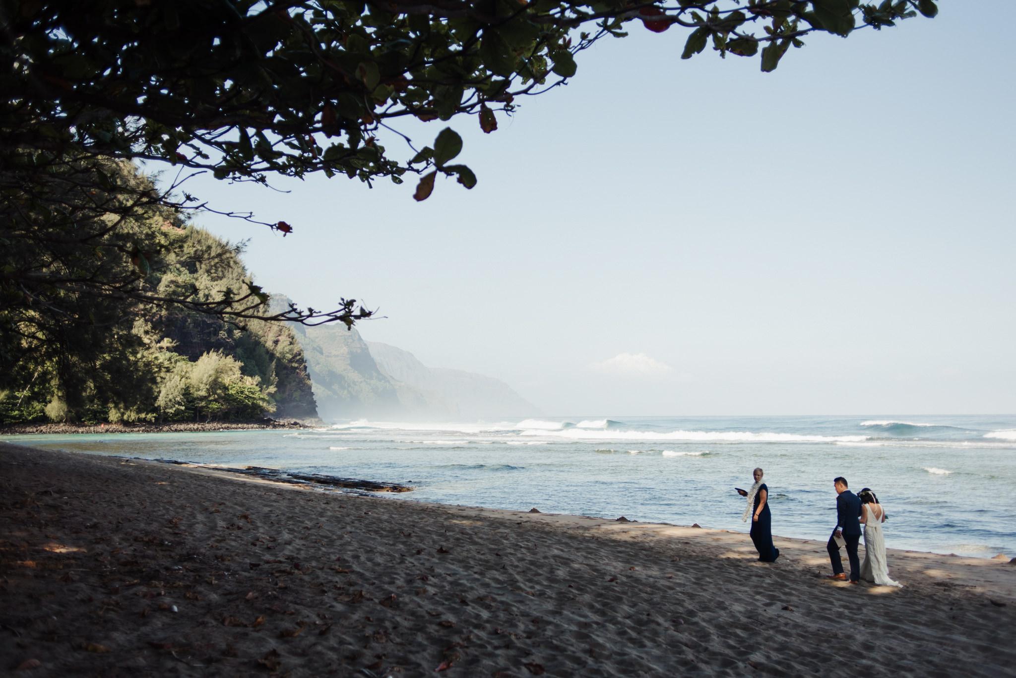Adventurous Kauai Elopement Daring Wanderer