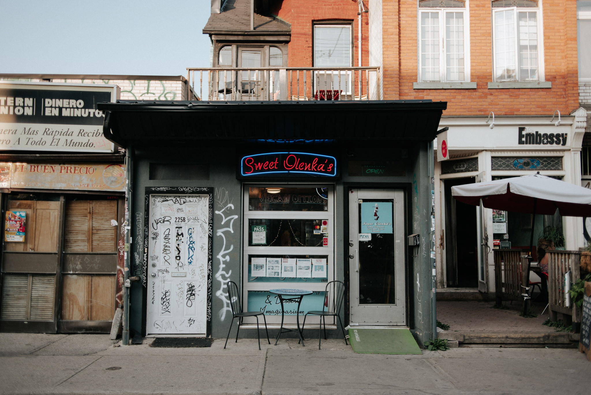 Kensington Market Engagement Shoot at Sweet Olenkas