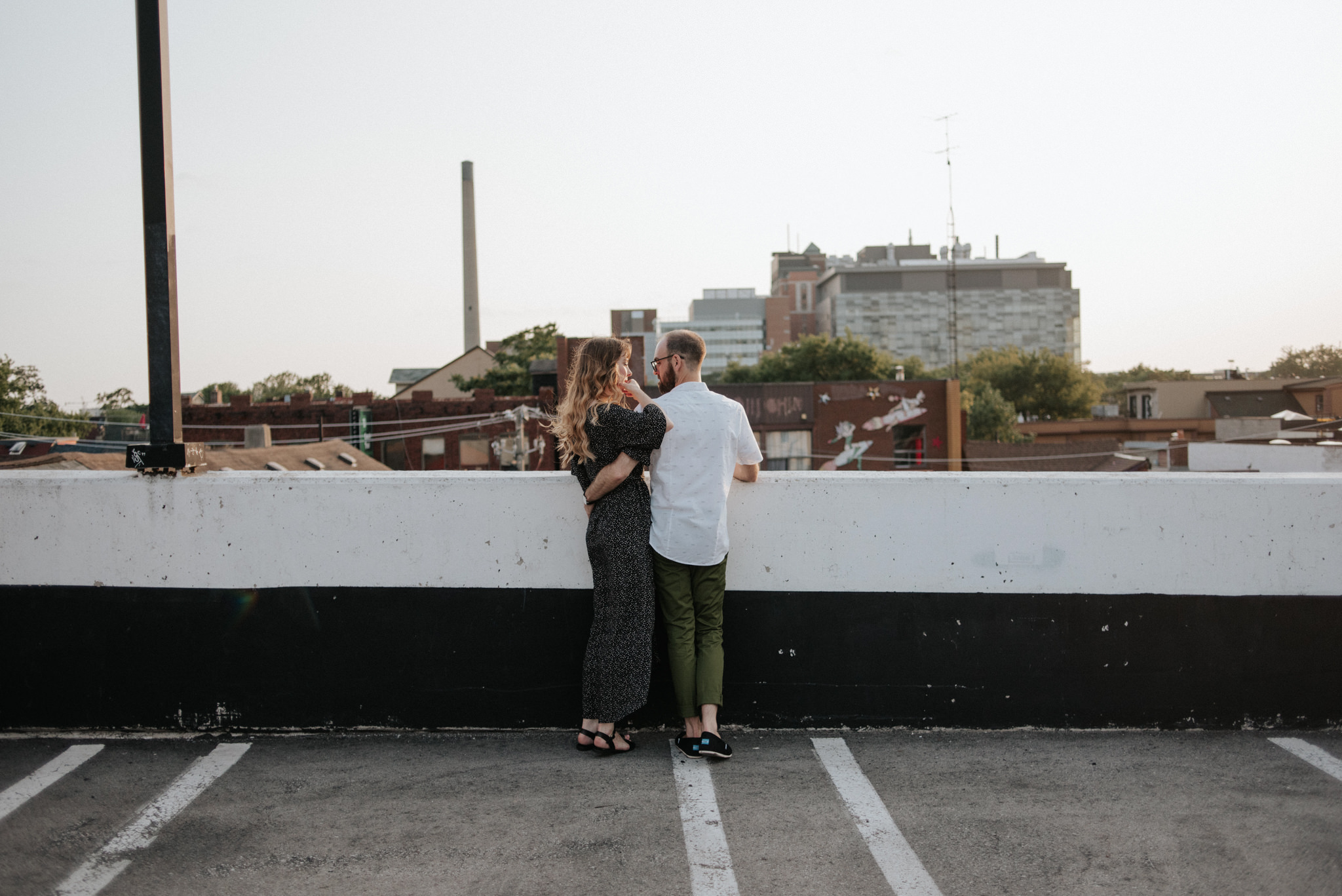Rooftop Engagement in Toronto