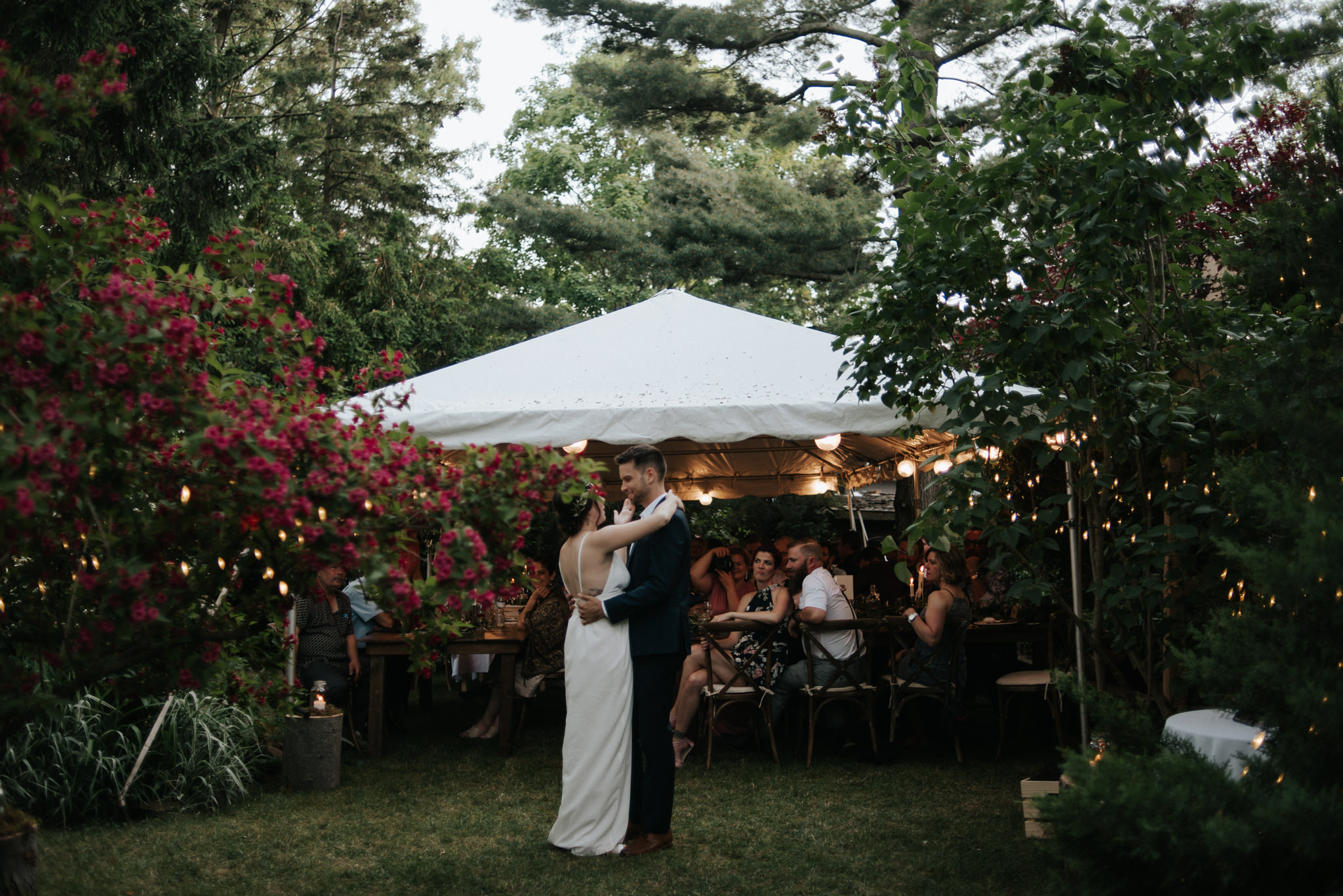 Intimate Backyard Wedding in Toronto