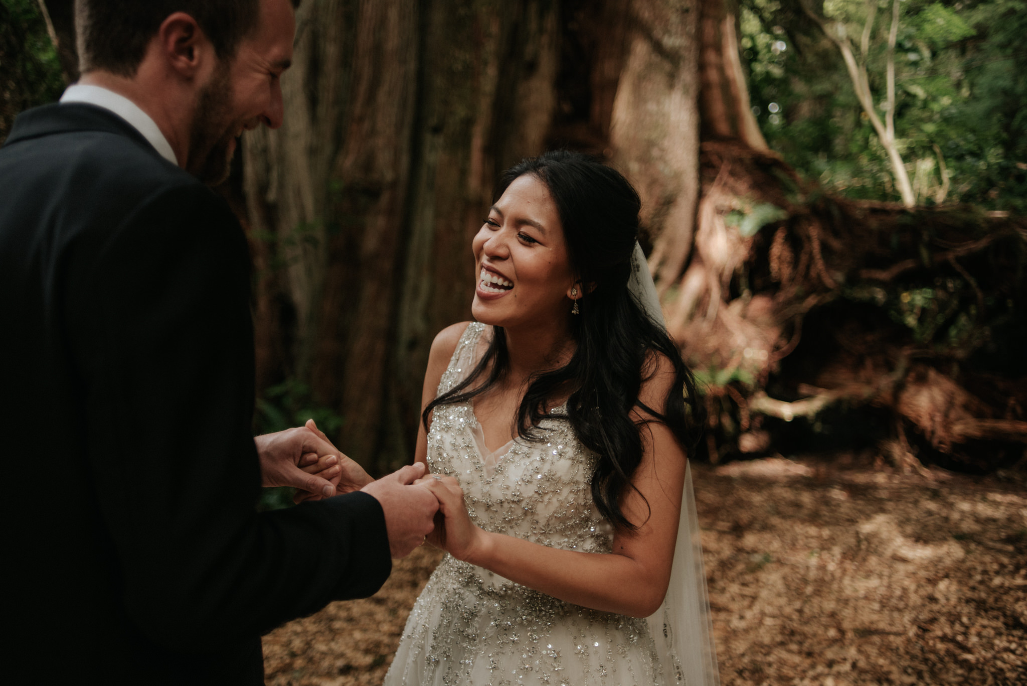 Tofino wedding ceremony at Wickaninnish Inn