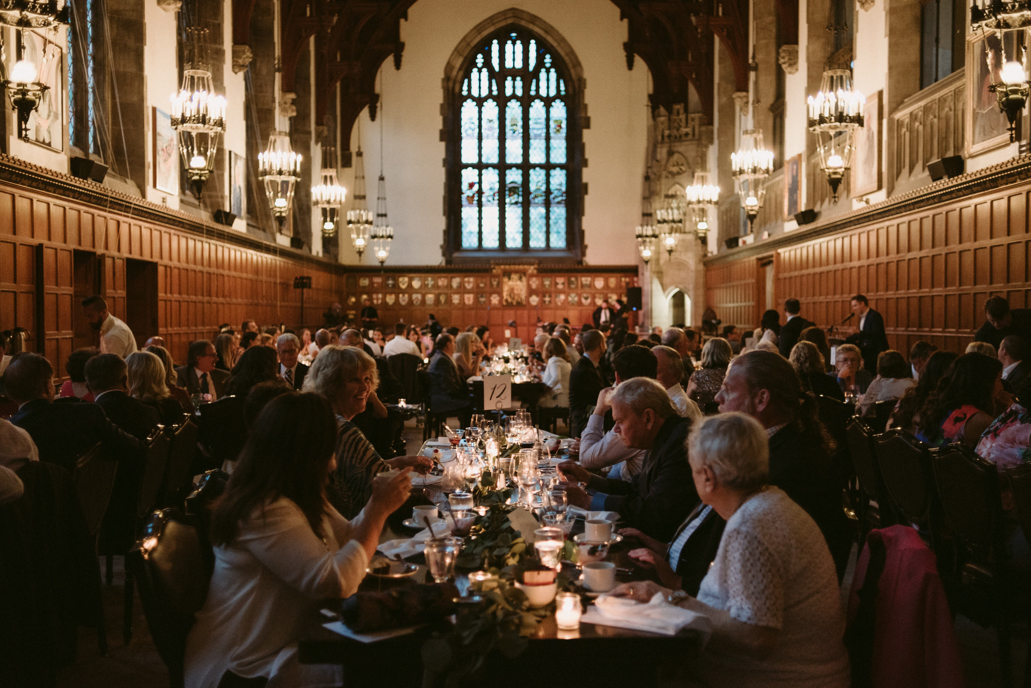 Hart House Wedding reception