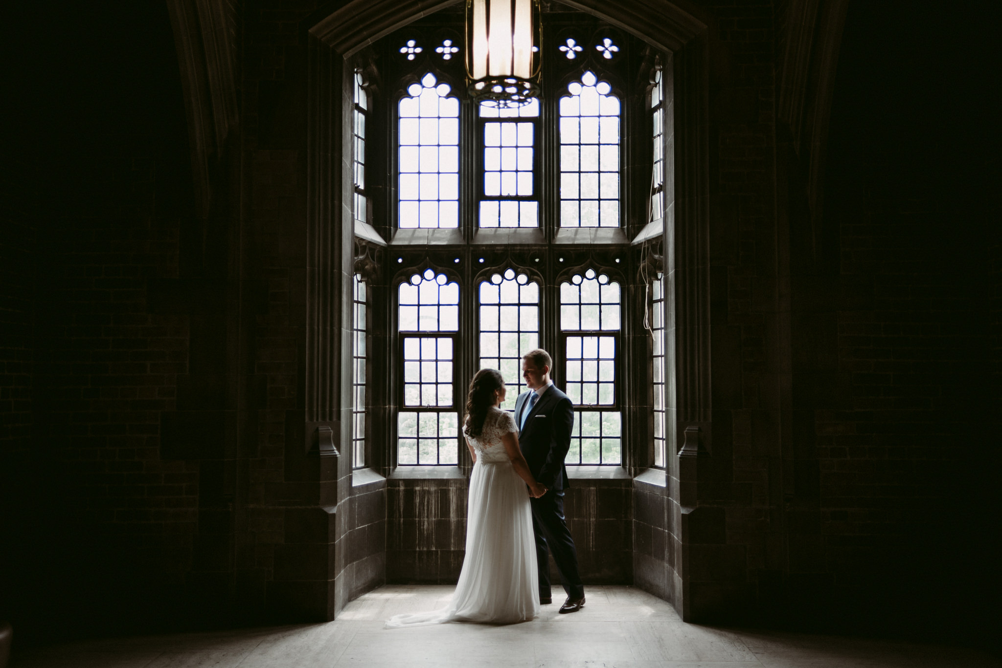 First look at Hart House wedding