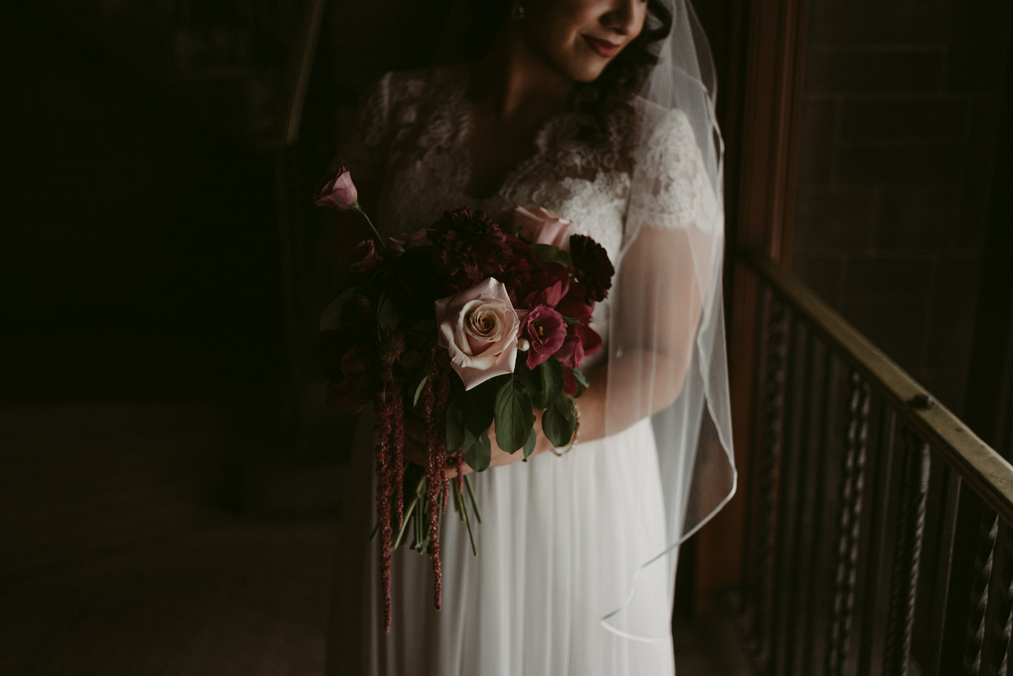 bridal portraits at Hart House