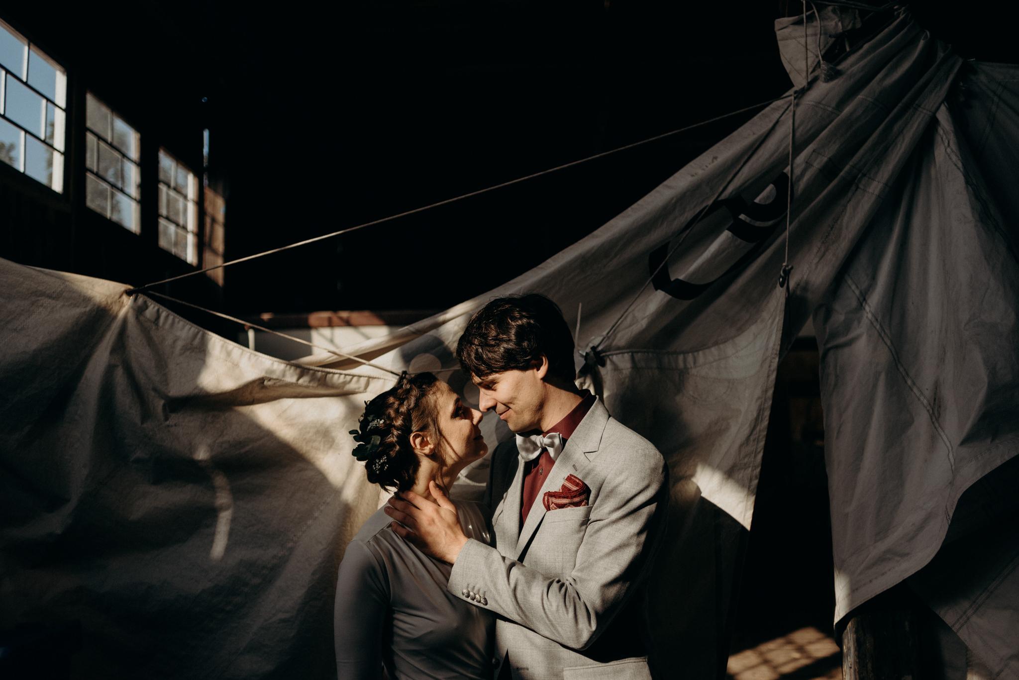 Valkosaaren Telakka wedding