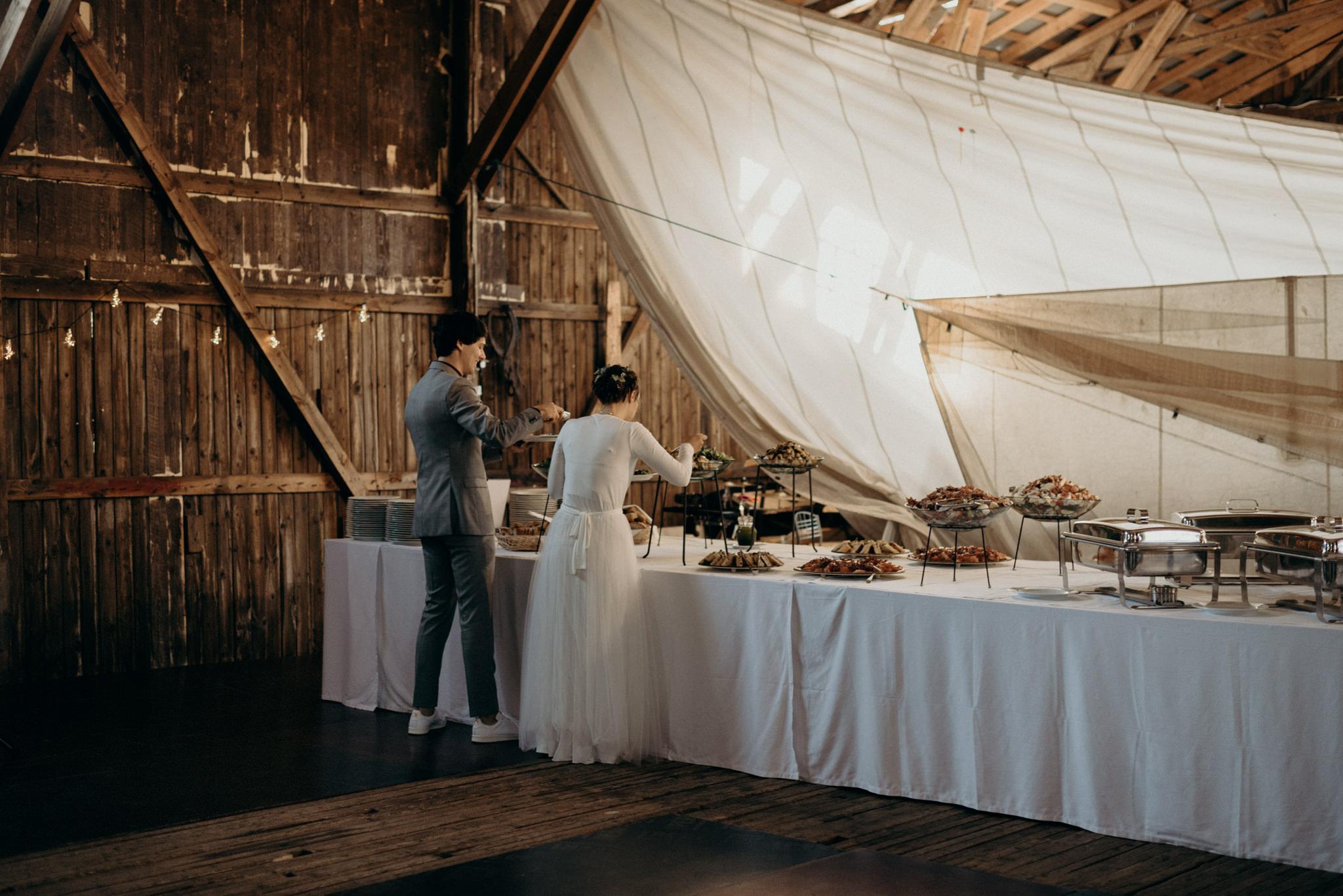 Valkosaaren Telakka wedding reception