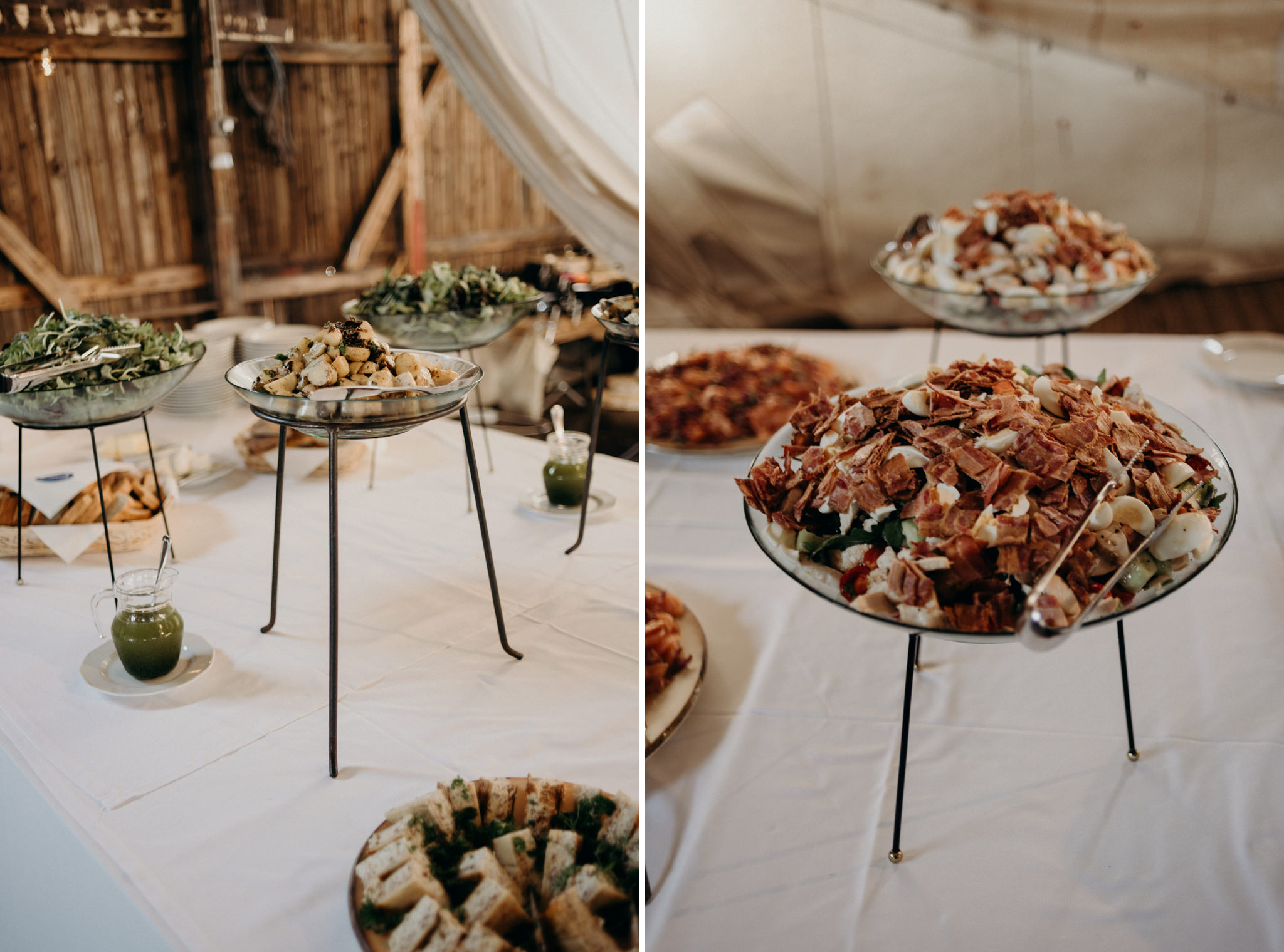 Guests drinking wine during speeches at Valkosaaren Telakka wedding reception