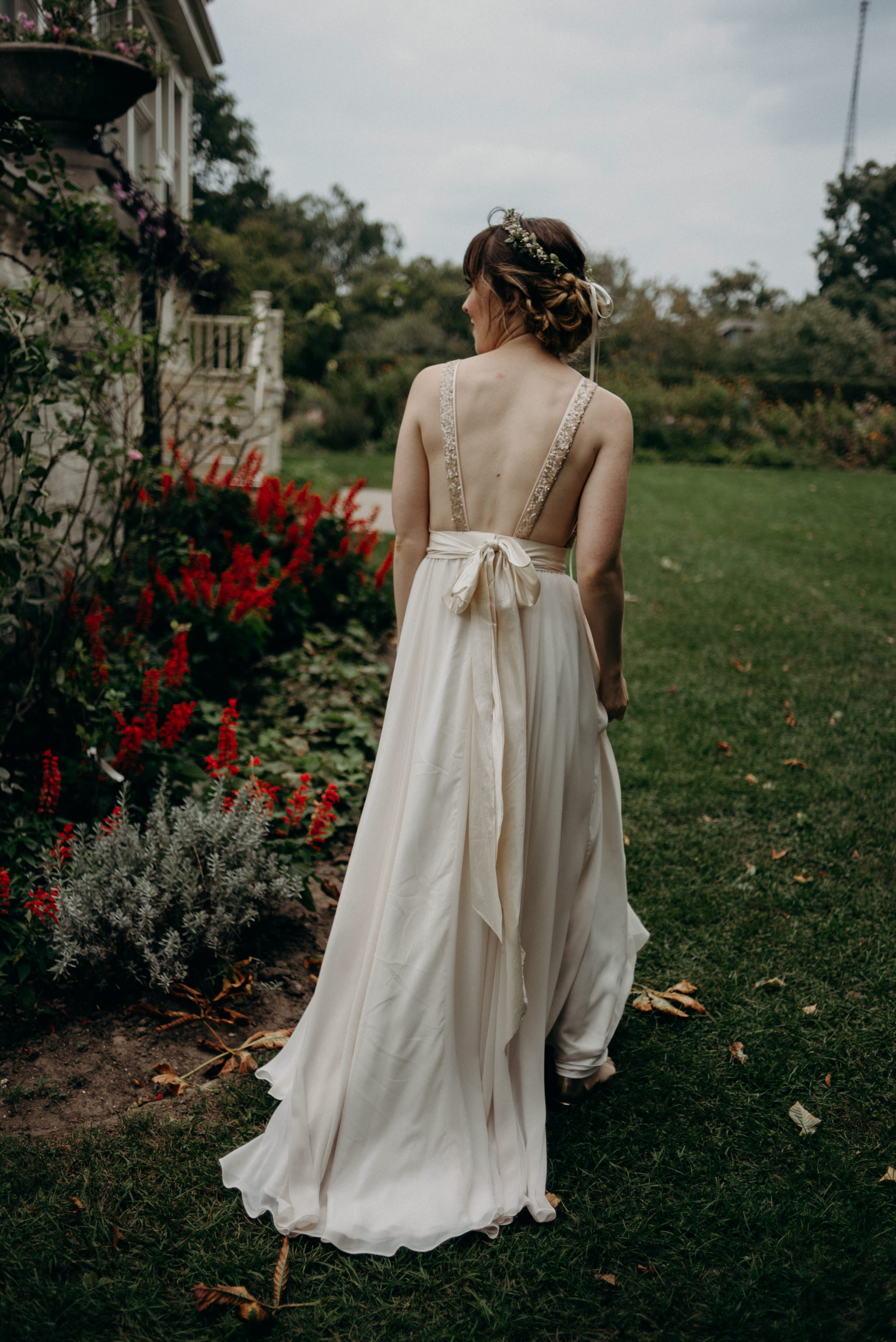 Bride at Spadina Museum