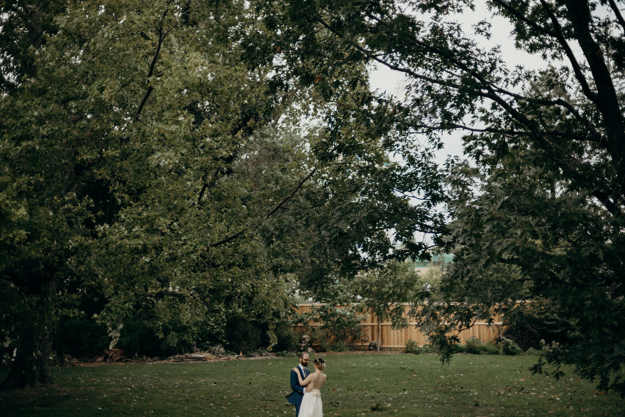 Spadina Museum wedding portraits