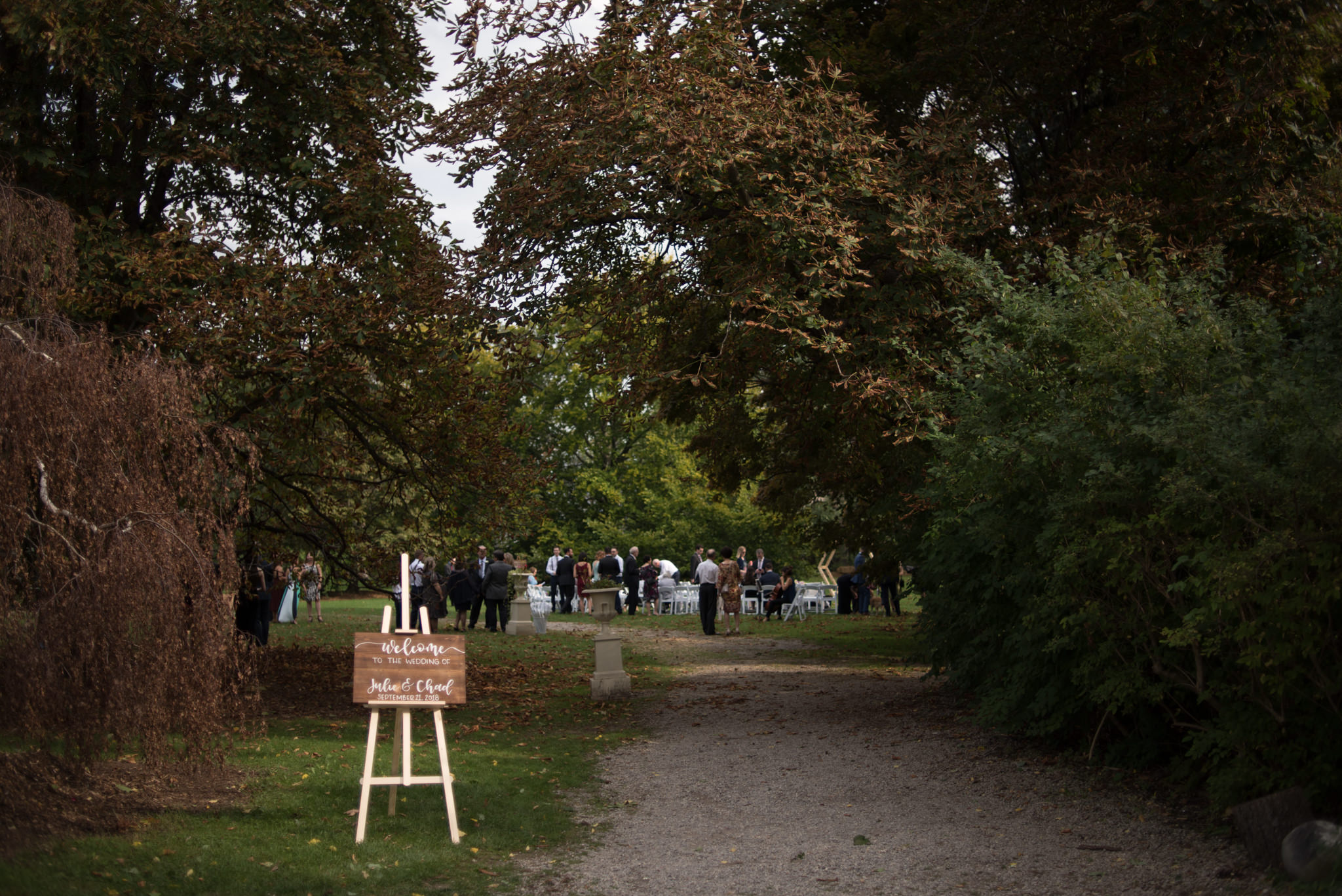 Spadina Museum wedding ceremony